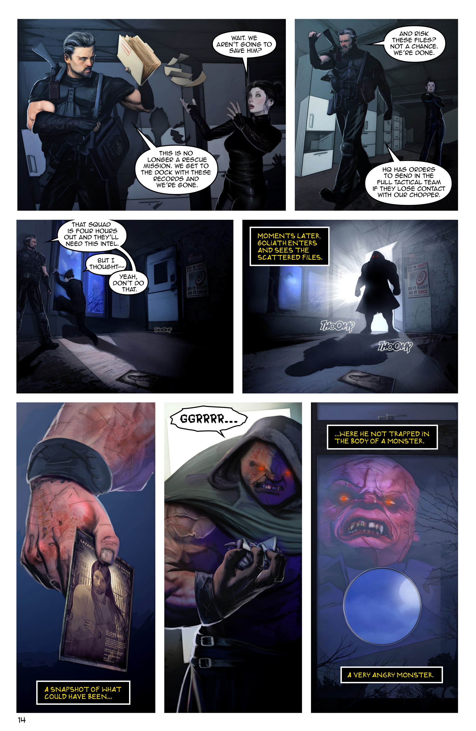 Read online Escape from Jesus Island comic -  Issue #3 - 14