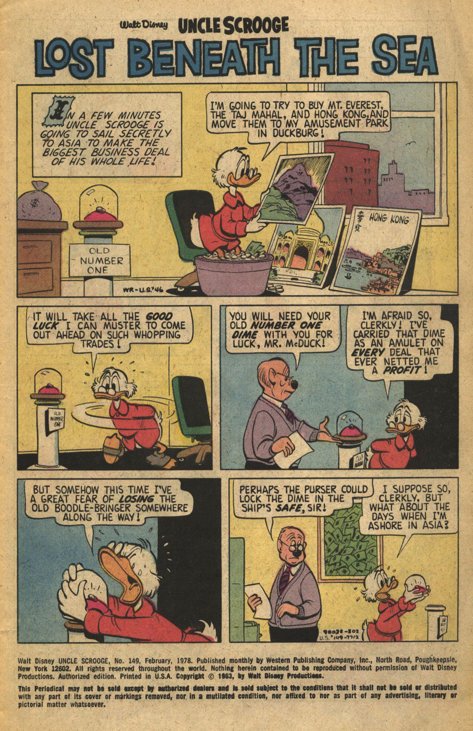 Read online Uncle Scrooge (1953) comic -  Issue #149 - 3