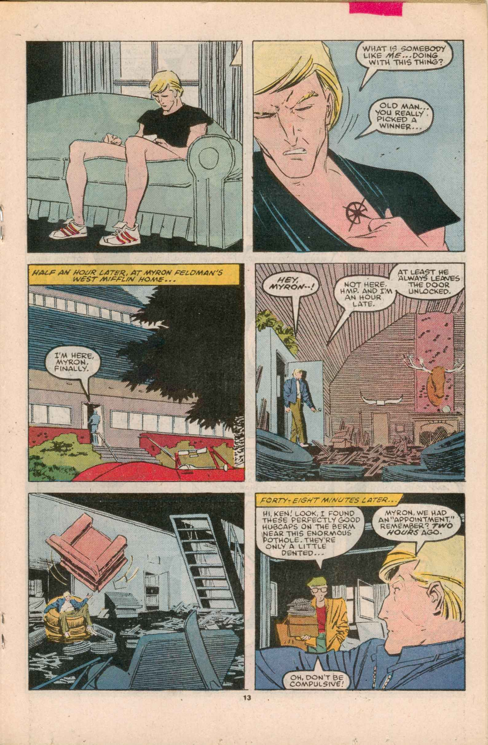 Read online Star Brand comic -  Issue #4 - 14