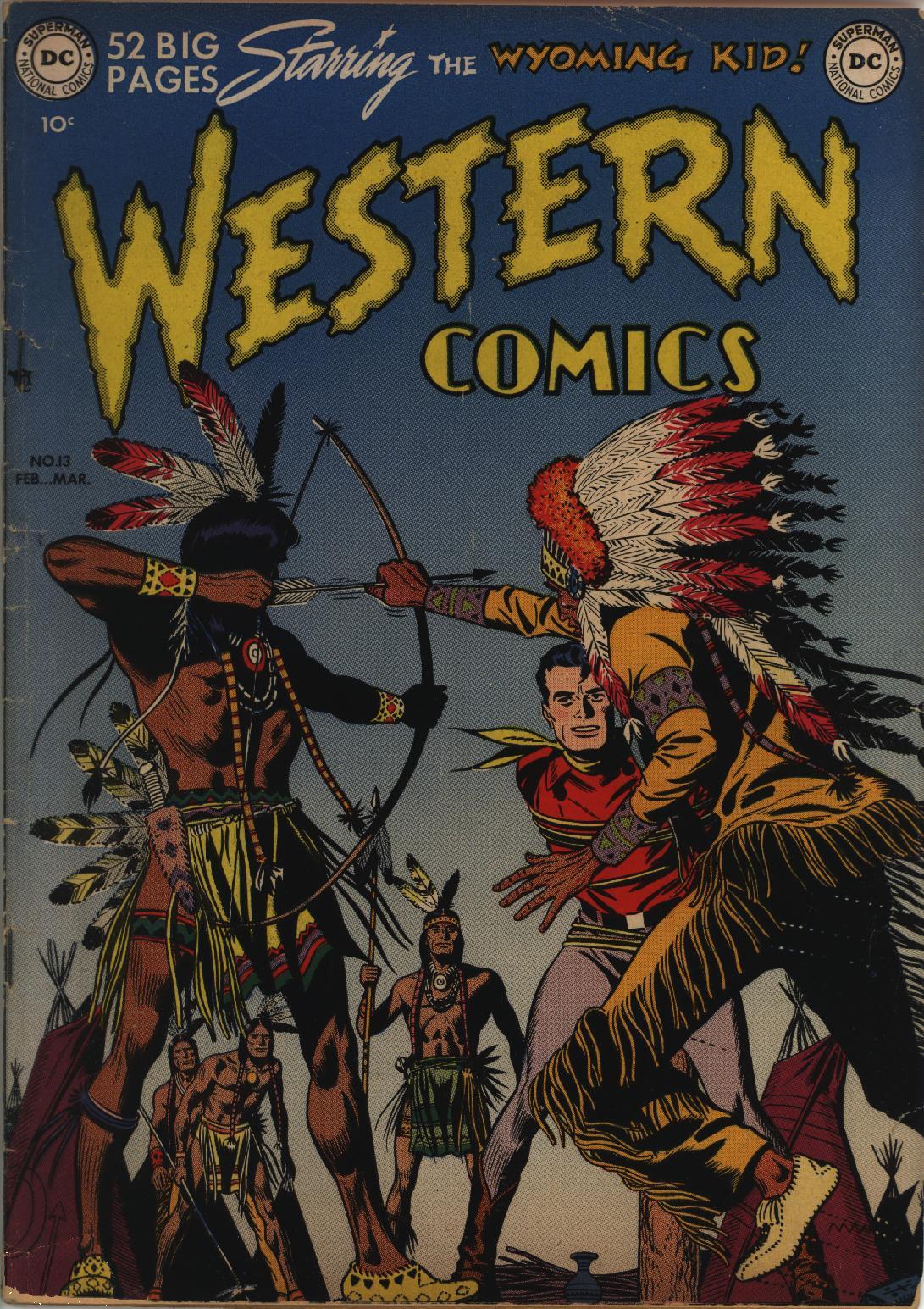 Western Comics 13 Page 1