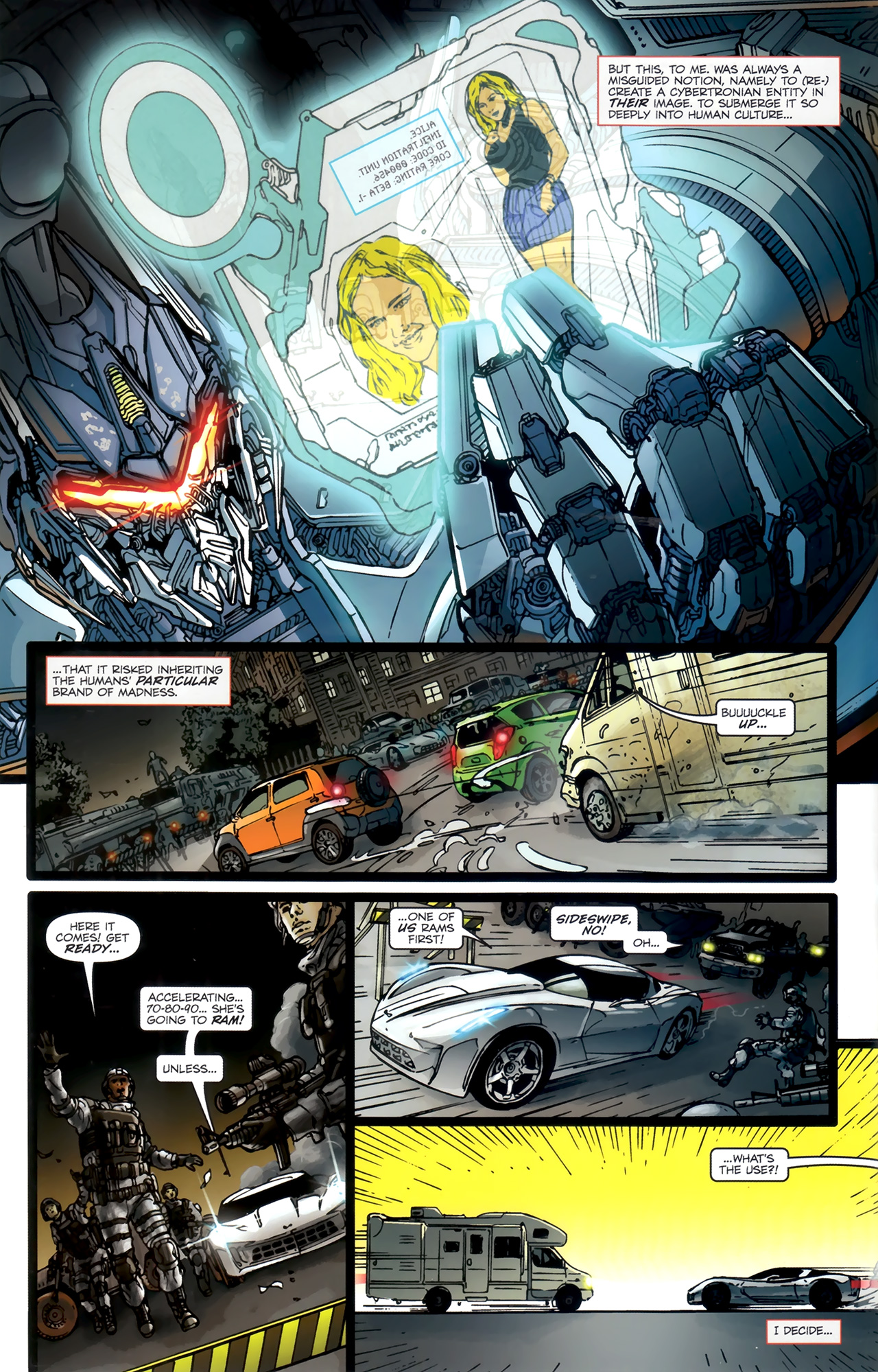 Read online Transformers: Nefarious comic -  Issue #1 - 8