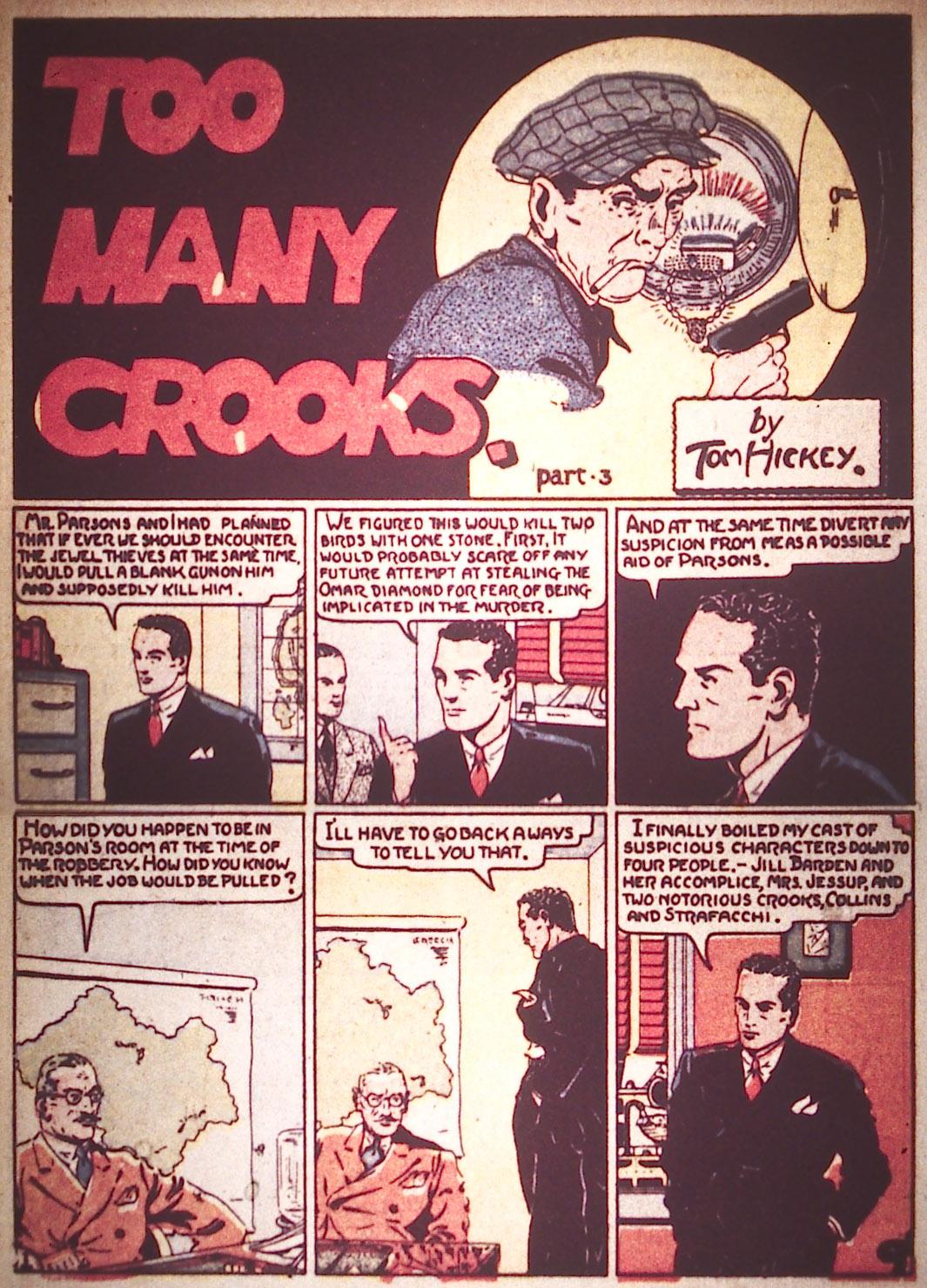 Read online Detective Comics (1937) comic -  Issue #16 - 22