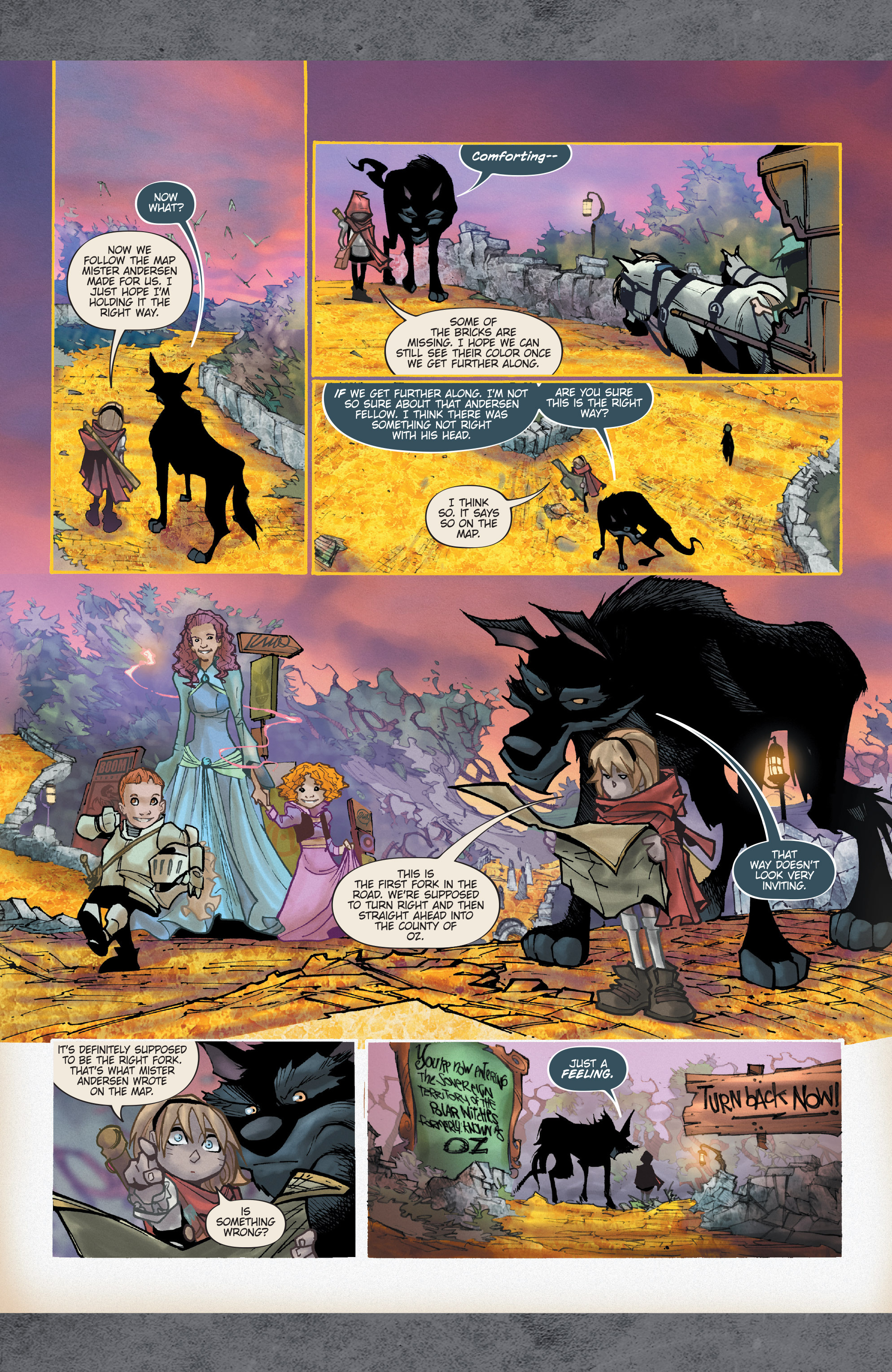 Read online Fairy Quest: Outcasts comic -  Issue #2 - 18