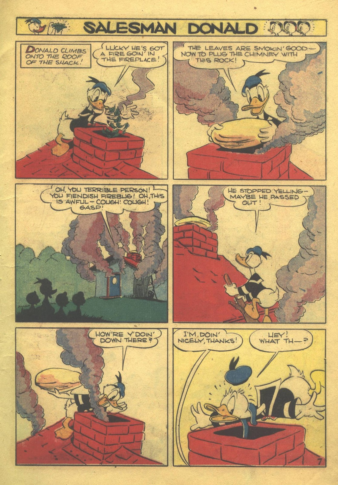 Walt Disney's Comics and Stories issue 39 - Page 9