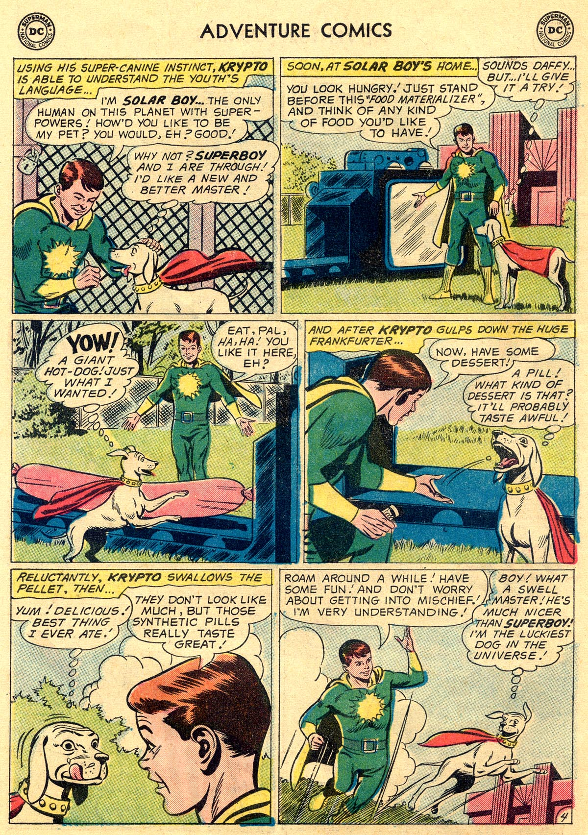 Read online Adventure Comics (1938) comic -  Issue #269 - 6