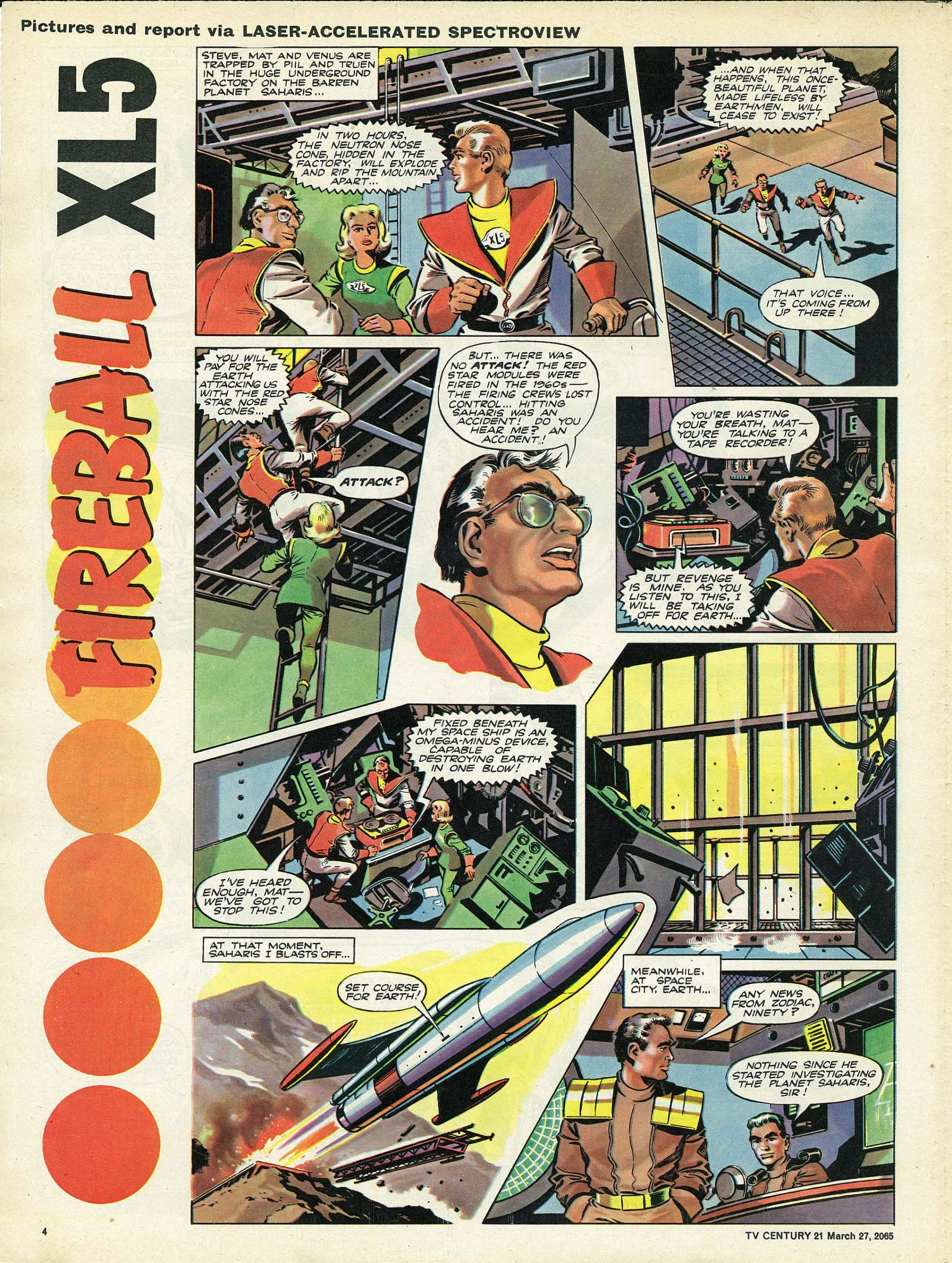 Read online TV Century 21 (TV 21) comic -  Issue #10 - 4