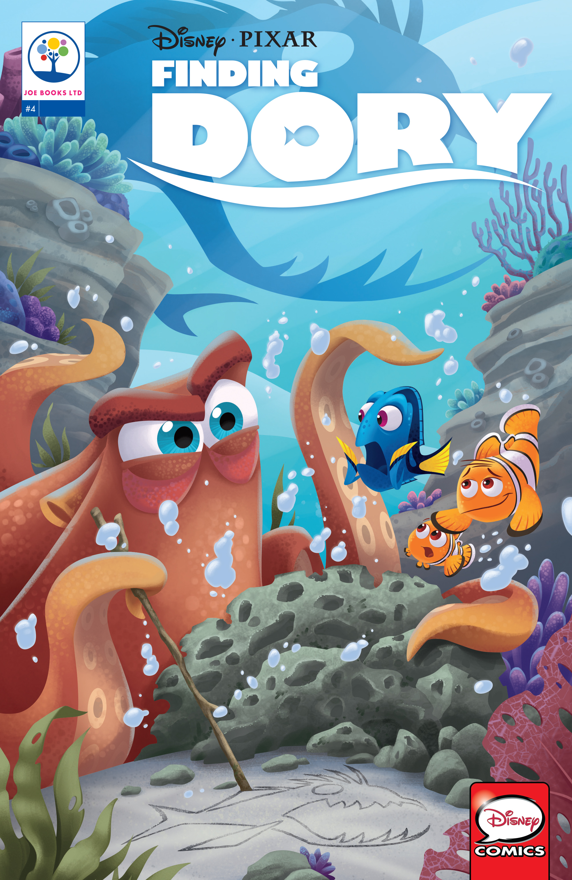Read online Disney Pixar Finding Dory comic -  Issue #4 - 1