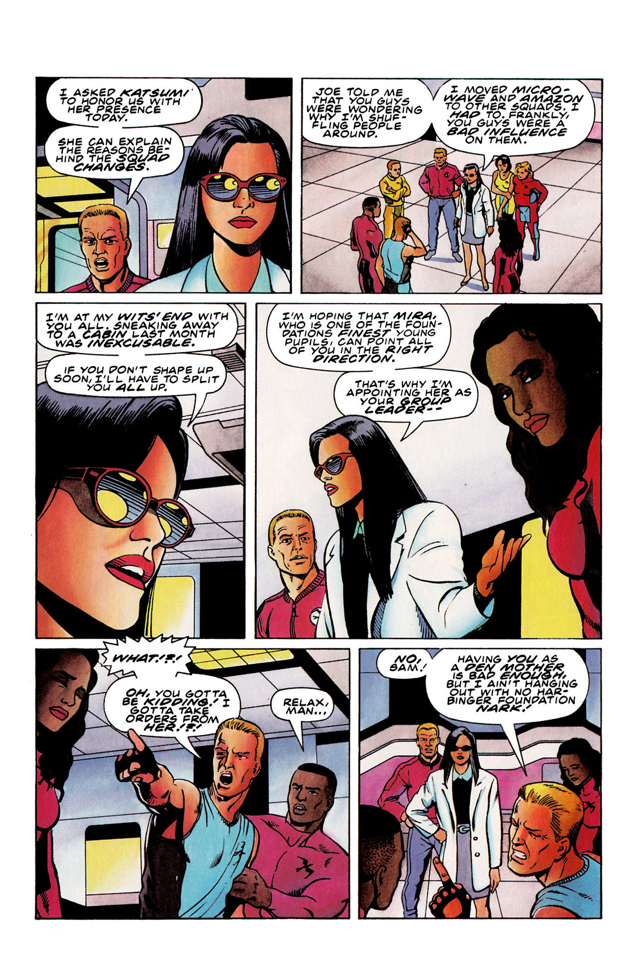 Read online Harbinger (1992) comic -  Issue #28 - 9