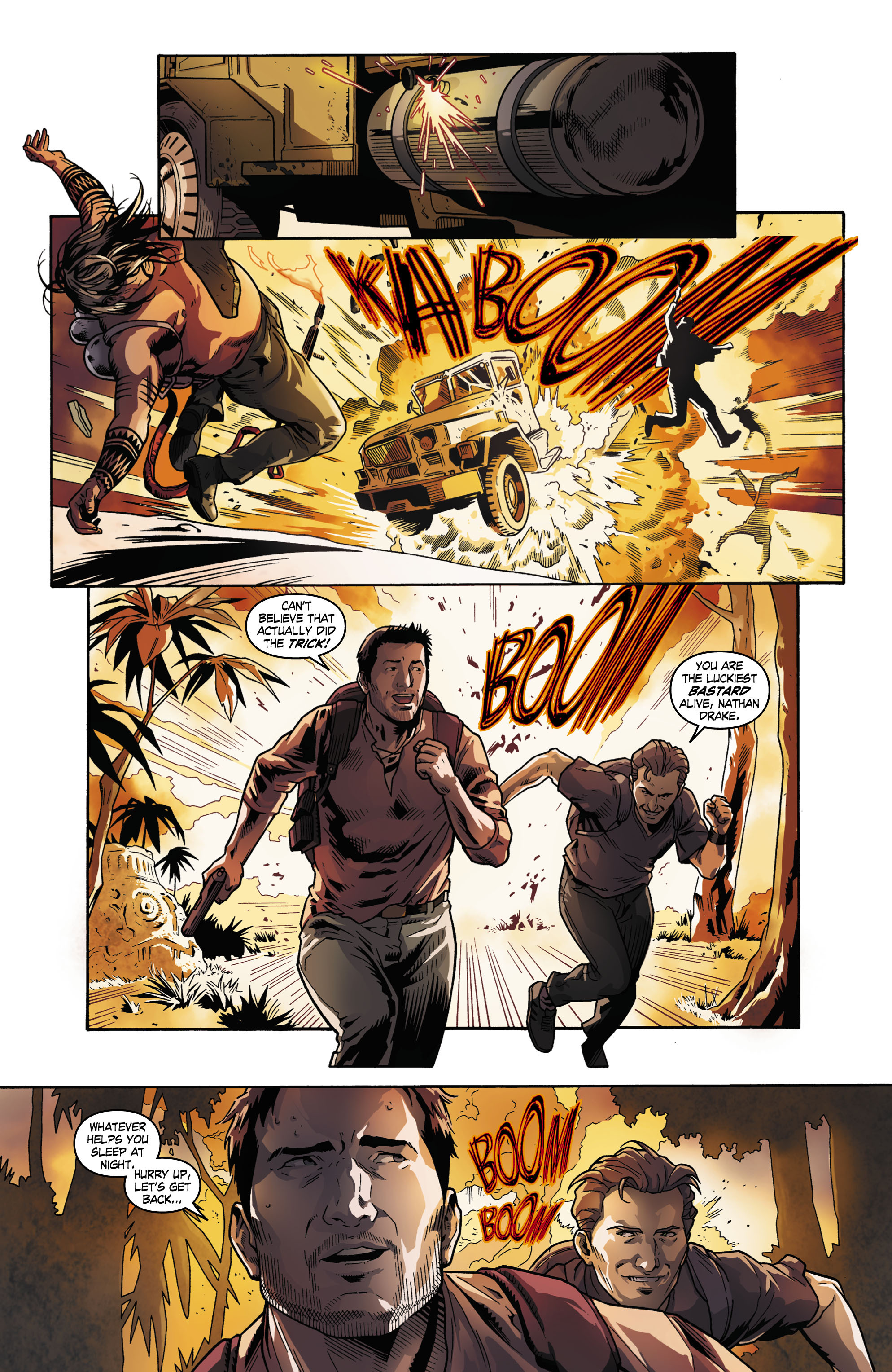 Read online Uncharted comic -  Issue #1 - 7