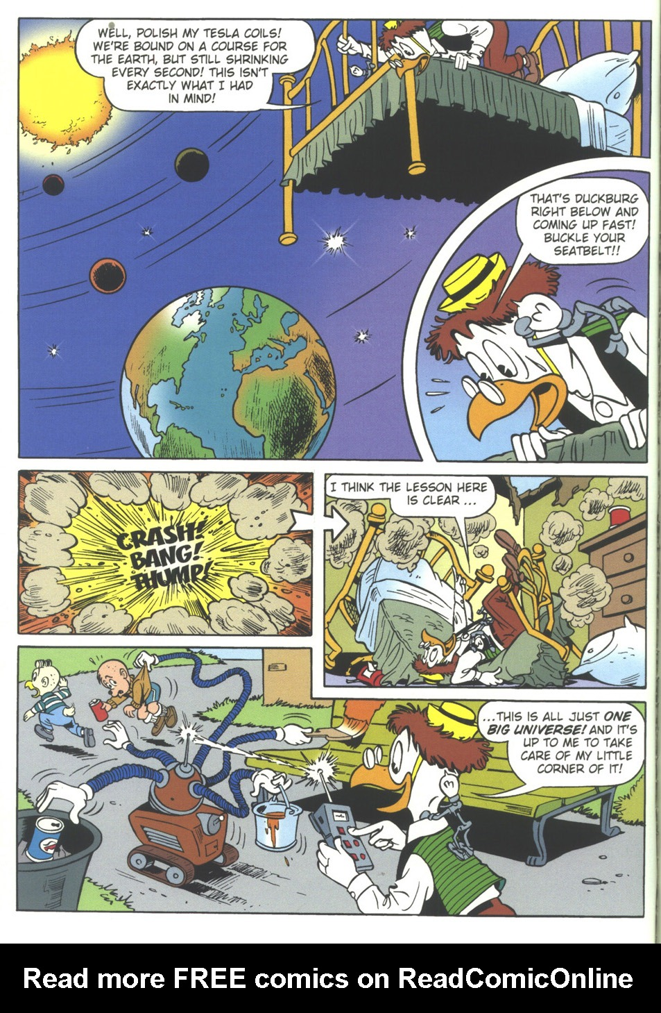 Read online Uncle Scrooge (1953) comic -  Issue #314 - 64