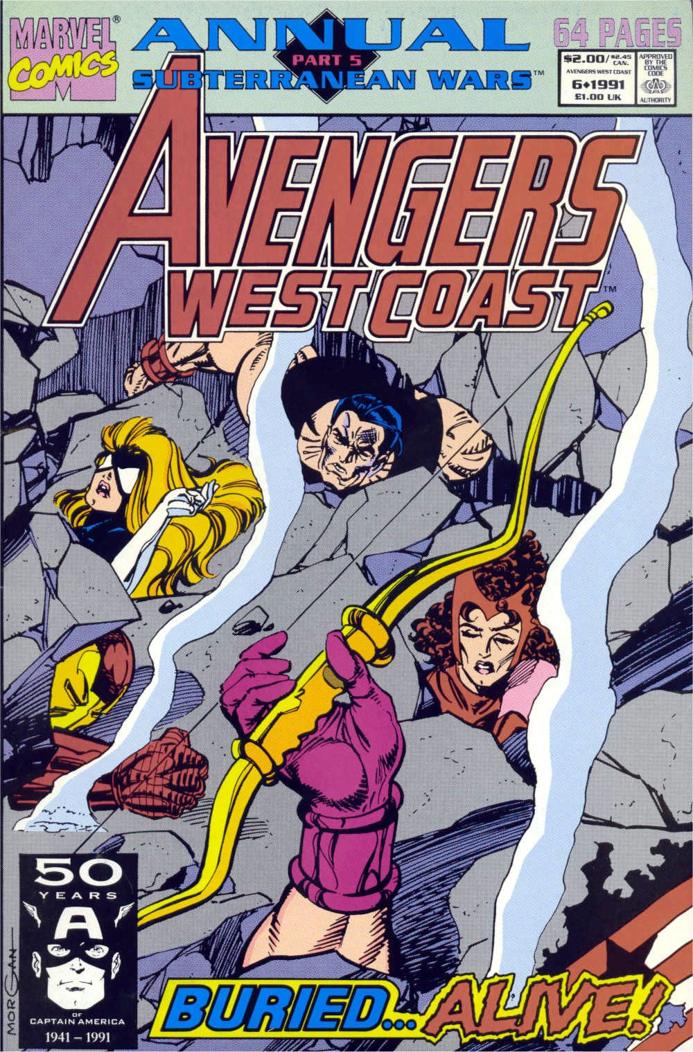 West Coast Avengers (1985) _Annual_6 Page 1