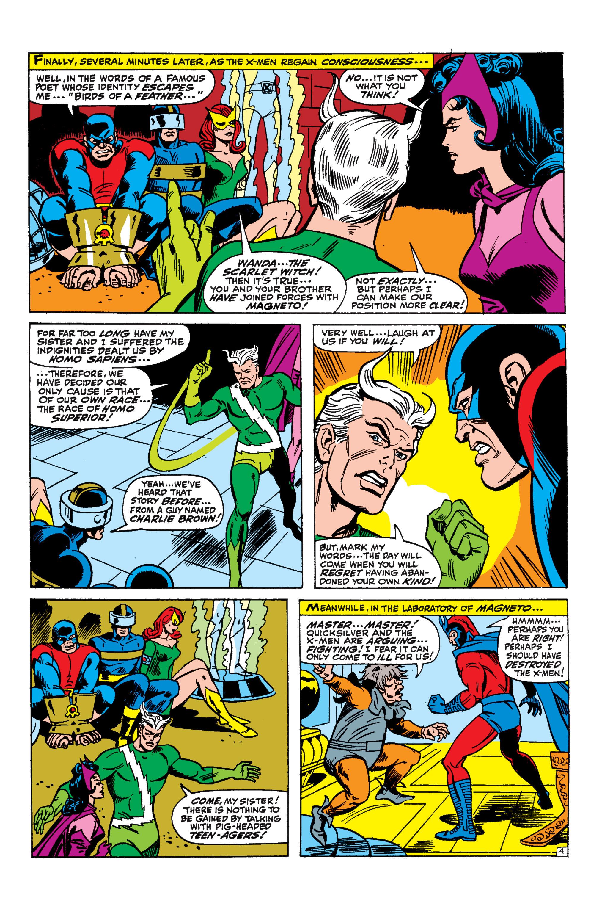 Read online Uncanny X-Men (1963) comic -  Issue #44 - 5