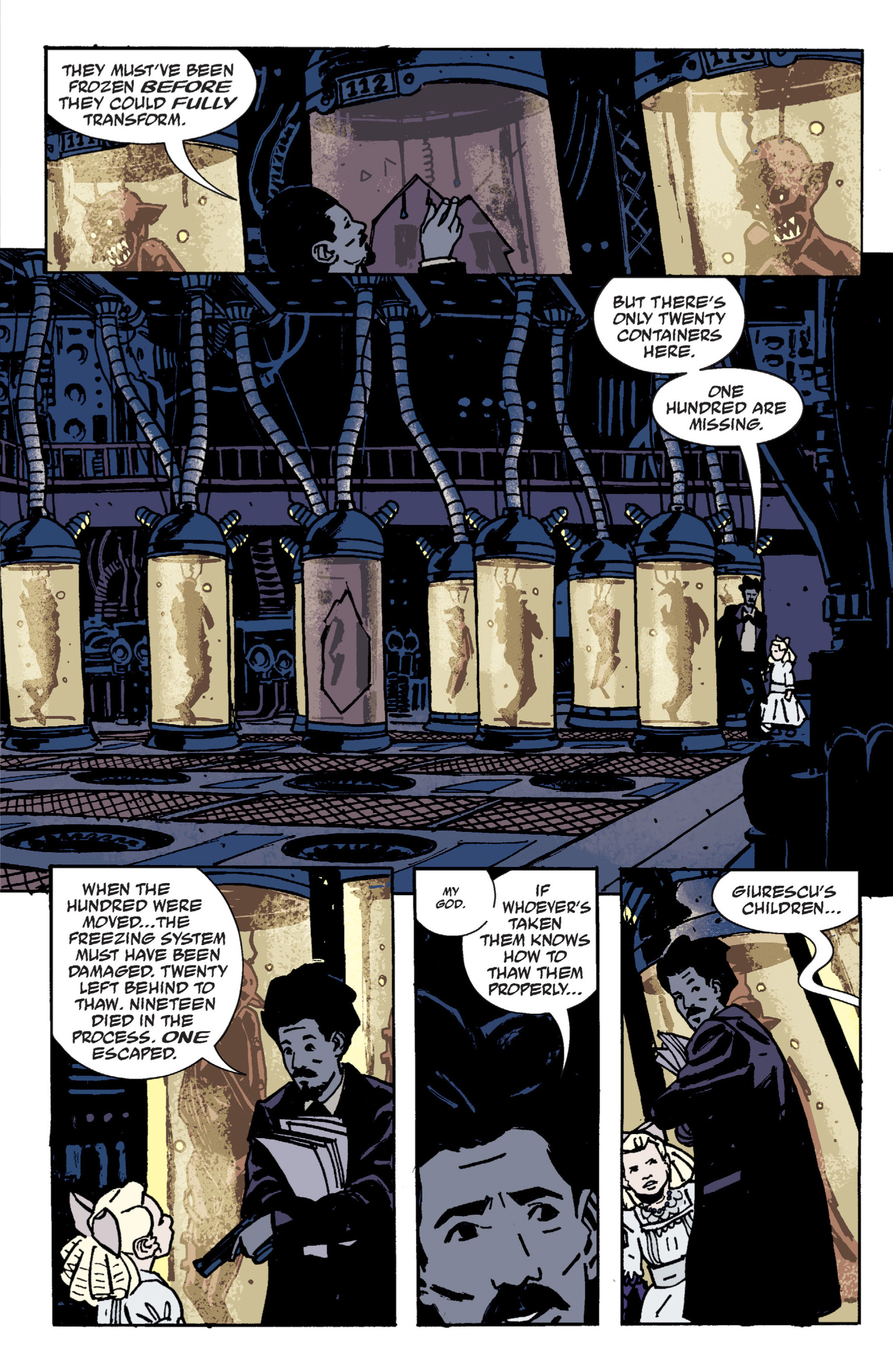 Read online B.P.R.D. (2003) comic -  Issue # TPB 9 - 74