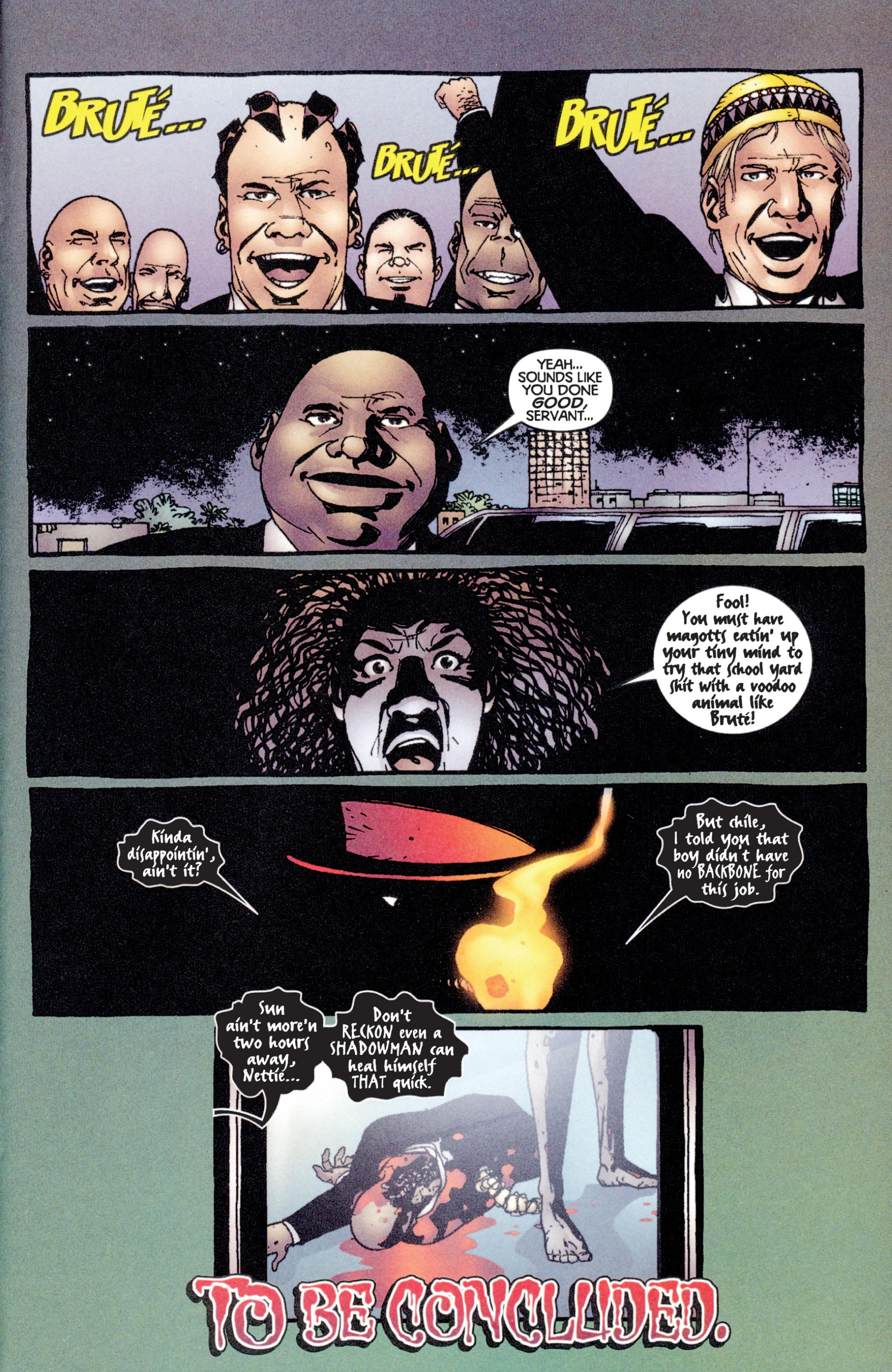 Read online Shadowman (1997) comic -  Issue #14 - 22