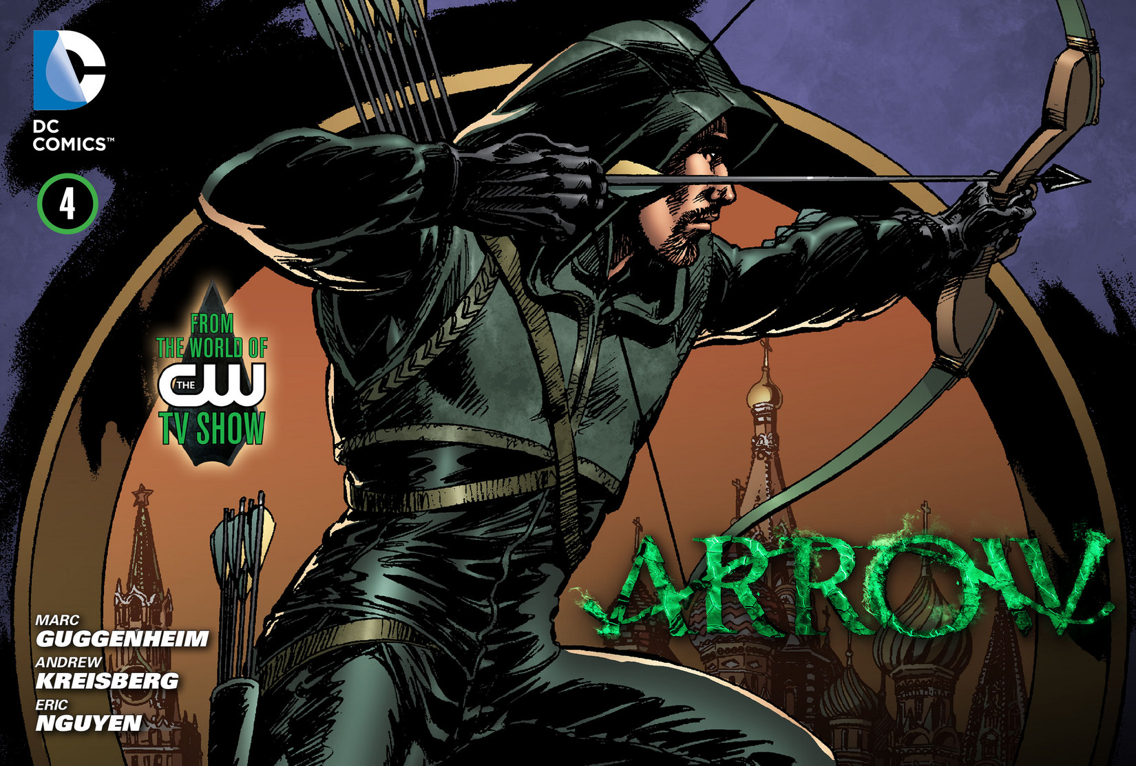 Read online Arrow [II] comic -  Issue #4 - 1