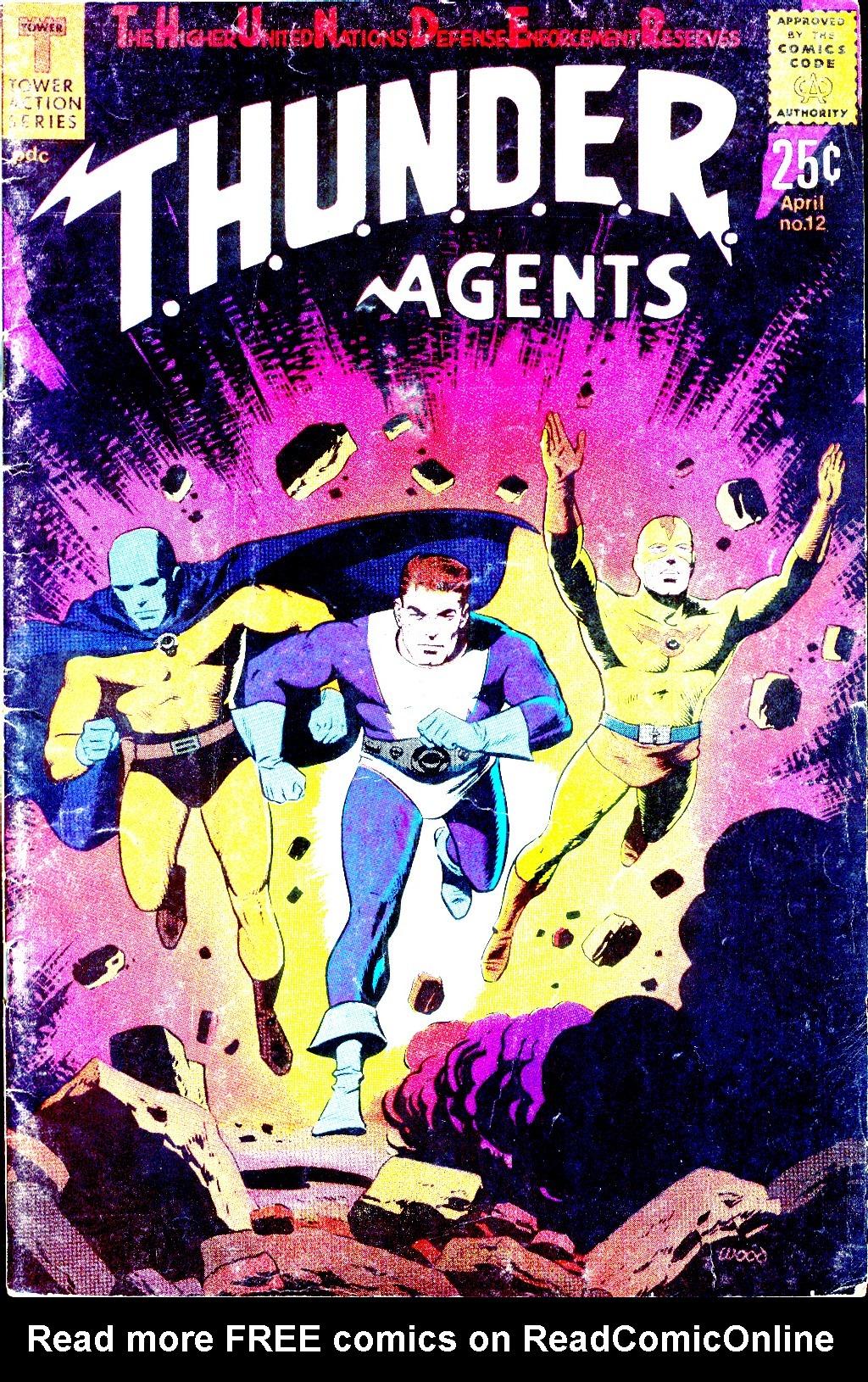 T.H.U.N.D.E.R. Agents (1965) 12 Page 1