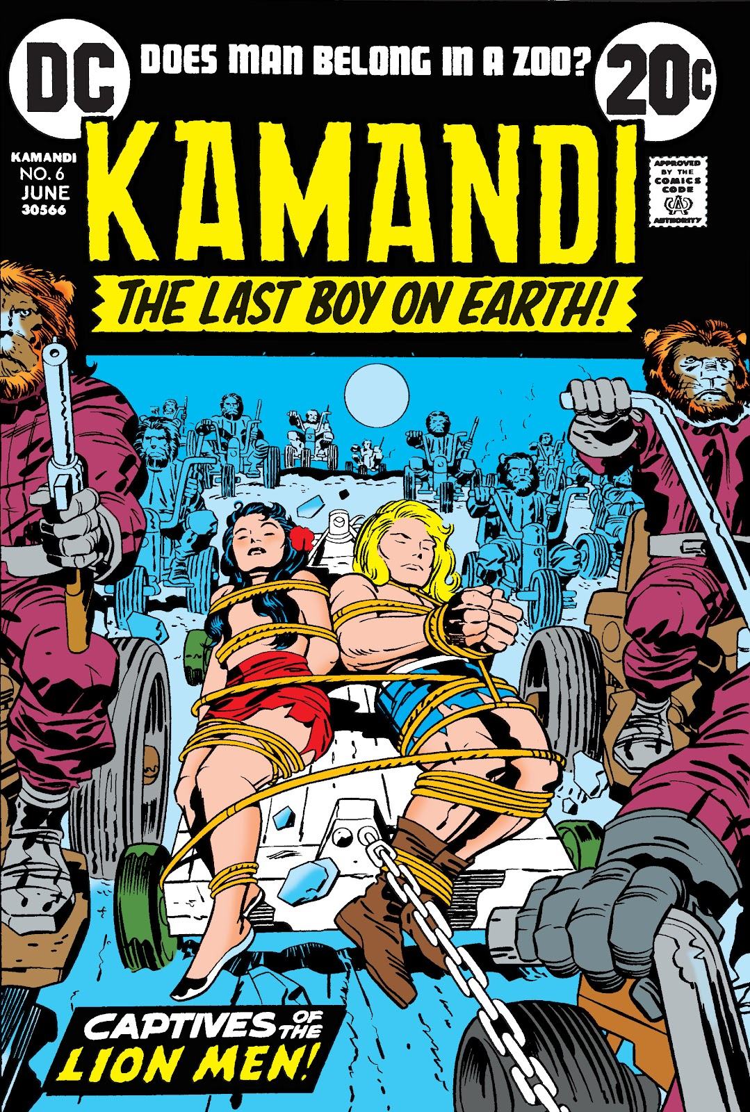 Kamandi, The Last Boy On Earth issue 6 - Page 1
