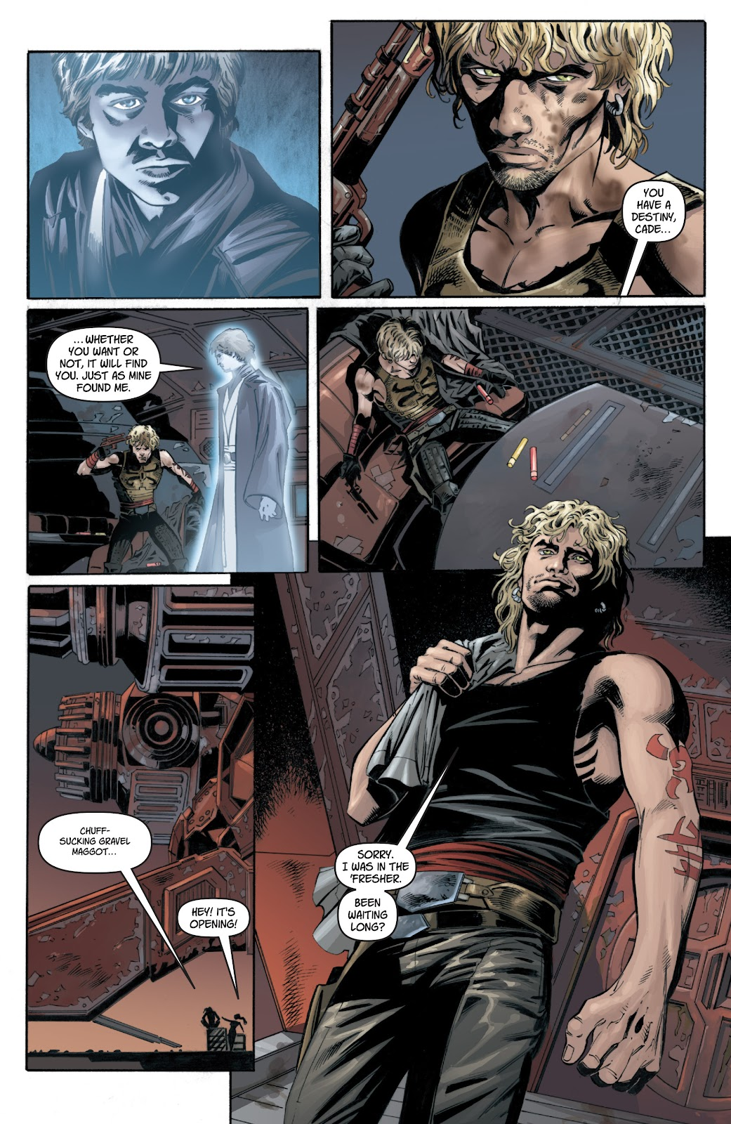 Read online Star Wars Legends: Legacy - Epic Collection comic -  Issue # TPB 1 (Part 1) - 70