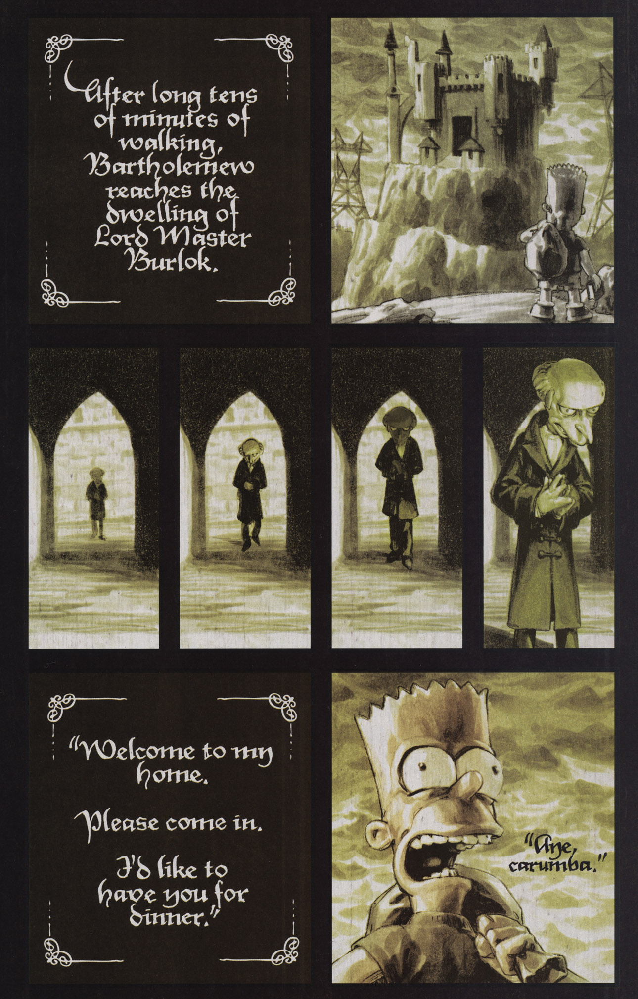 Read online Treehouse of Horror comic -  Issue #17 - 10