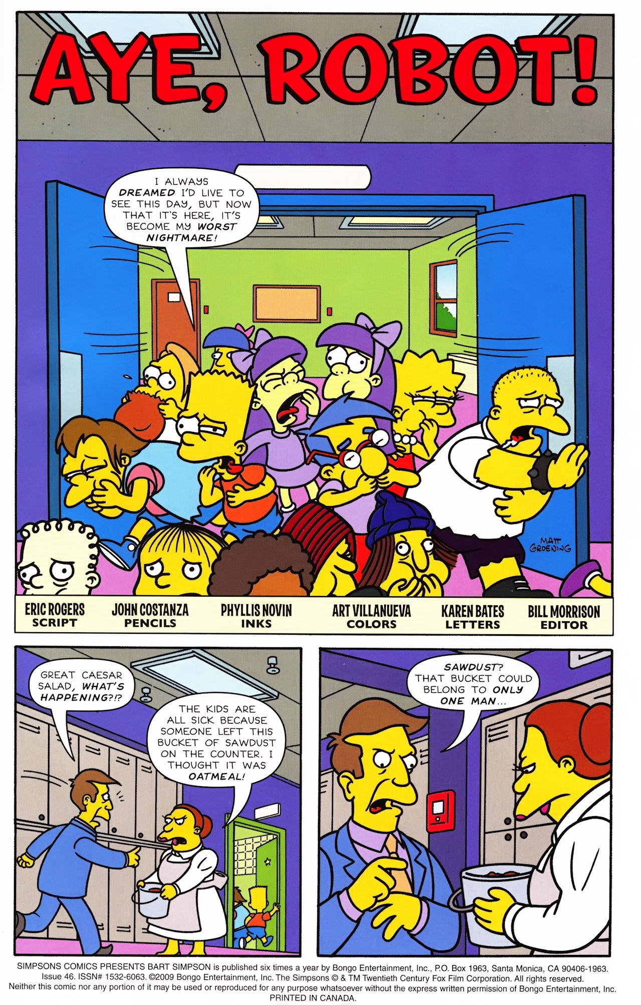 Read online Simpsons Comics Presents Bart Simpson comic -  Issue #46 - 3