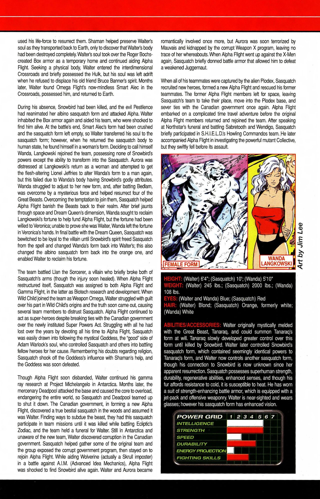 Read online All-New Official Handbook of the Marvel Universe A to Z comic -  Issue #9 - 43