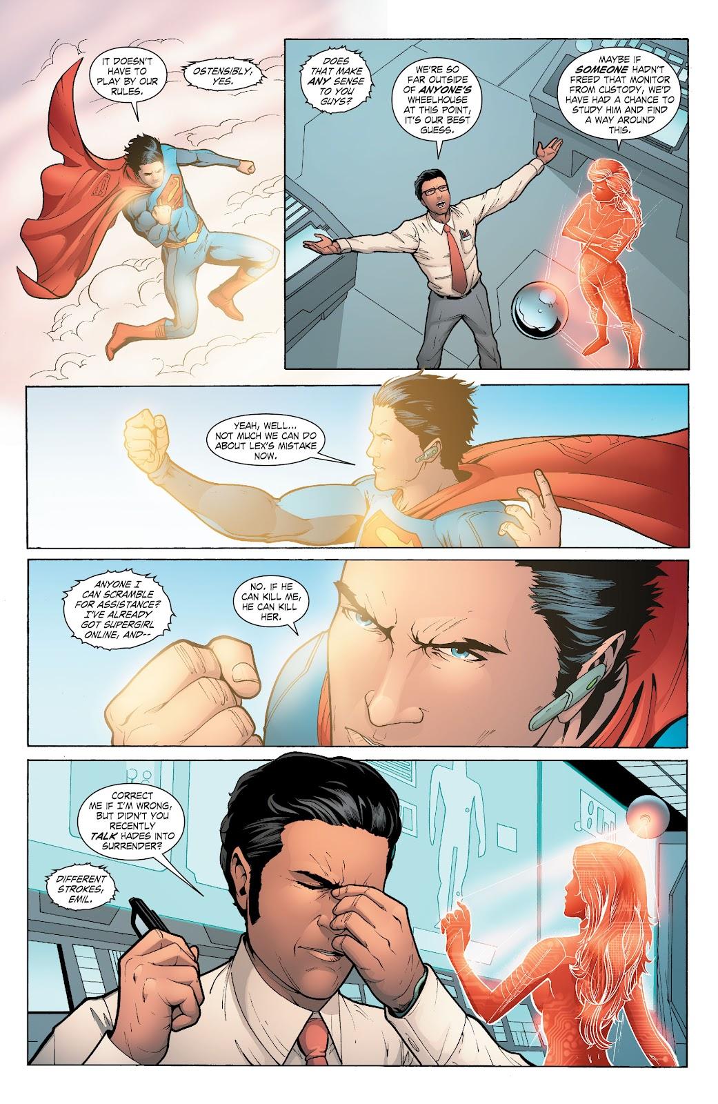 Read online Smallville Season 11 [II] comic -  Issue # TPB 6 - 153