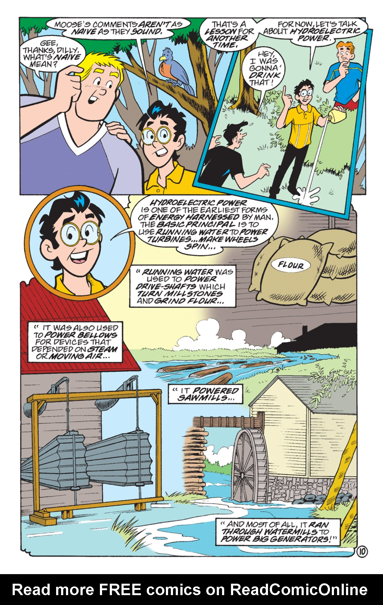 Read online Archie's Weird Mysteries comic -  Issue #23 - 12