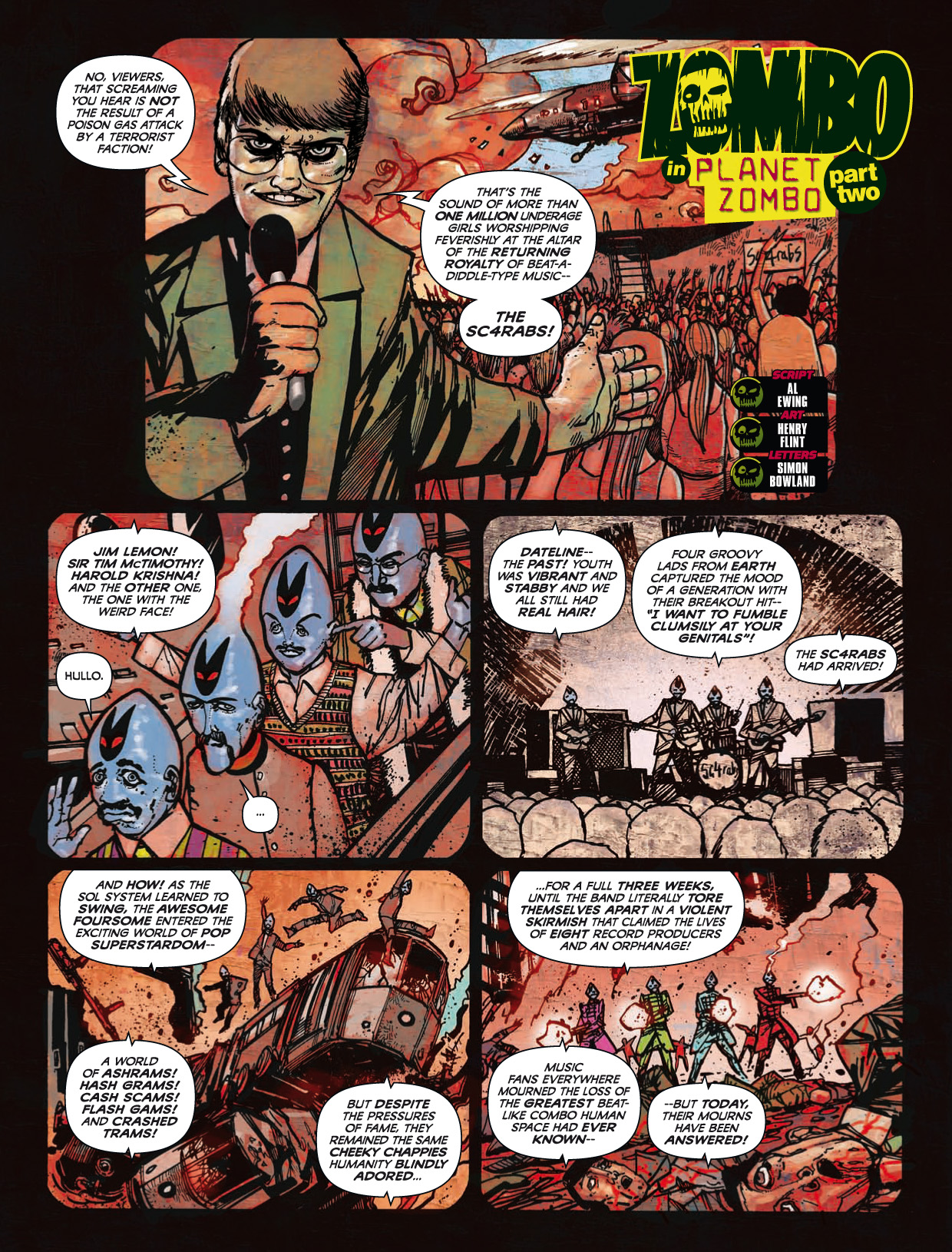 Read online 2000 AD comic -  Issue #1746 - 146