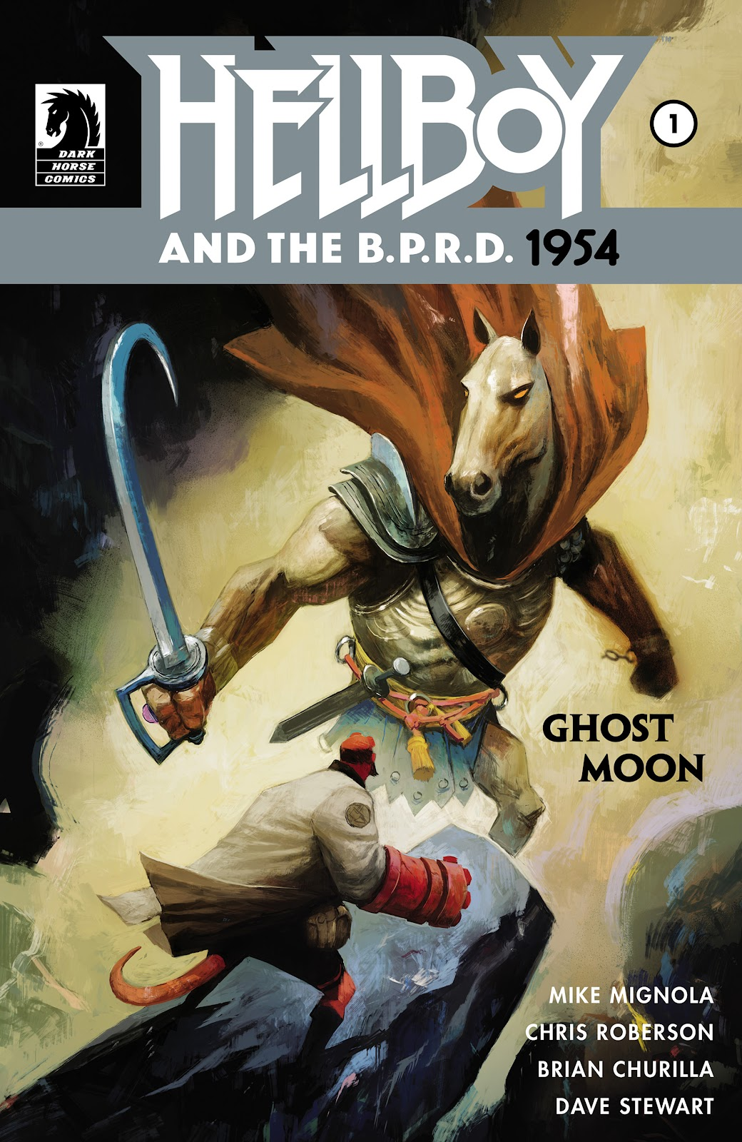 Hellboy and the B.P.R.D.: 1954--Ghost Moon issue 1 - Page 1