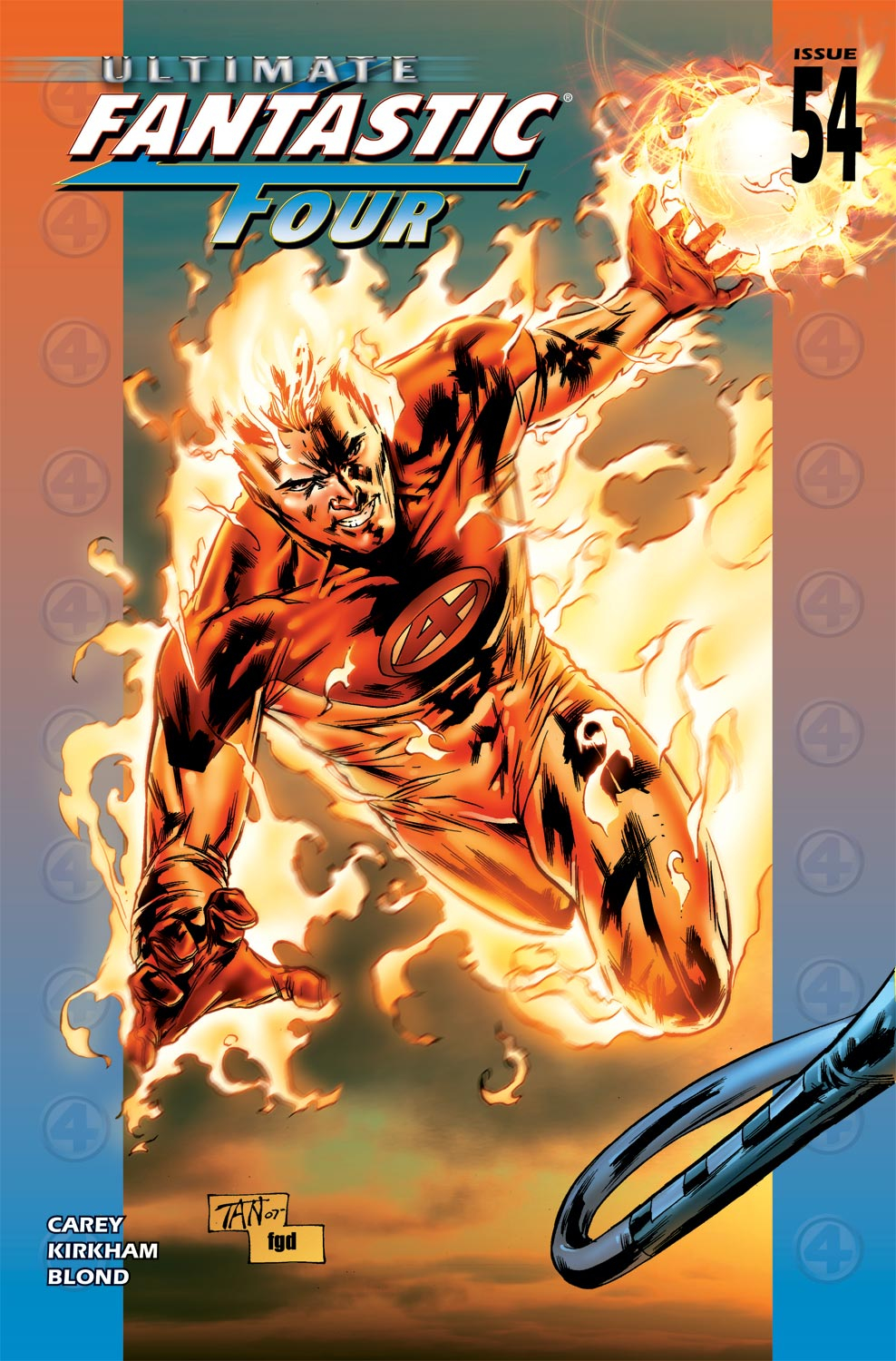 Read online Ultimate Fantastic Four (2004) comic -  Issue #54 - 1