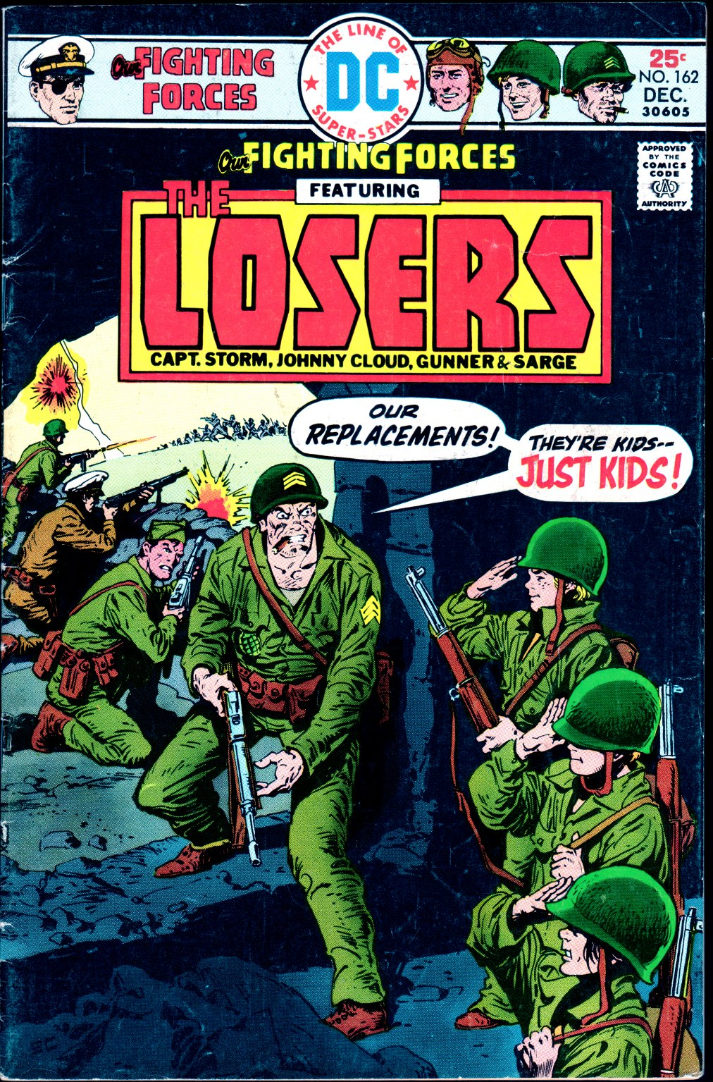 Our Fighting Forces (1954) issue 162 - Page 1
