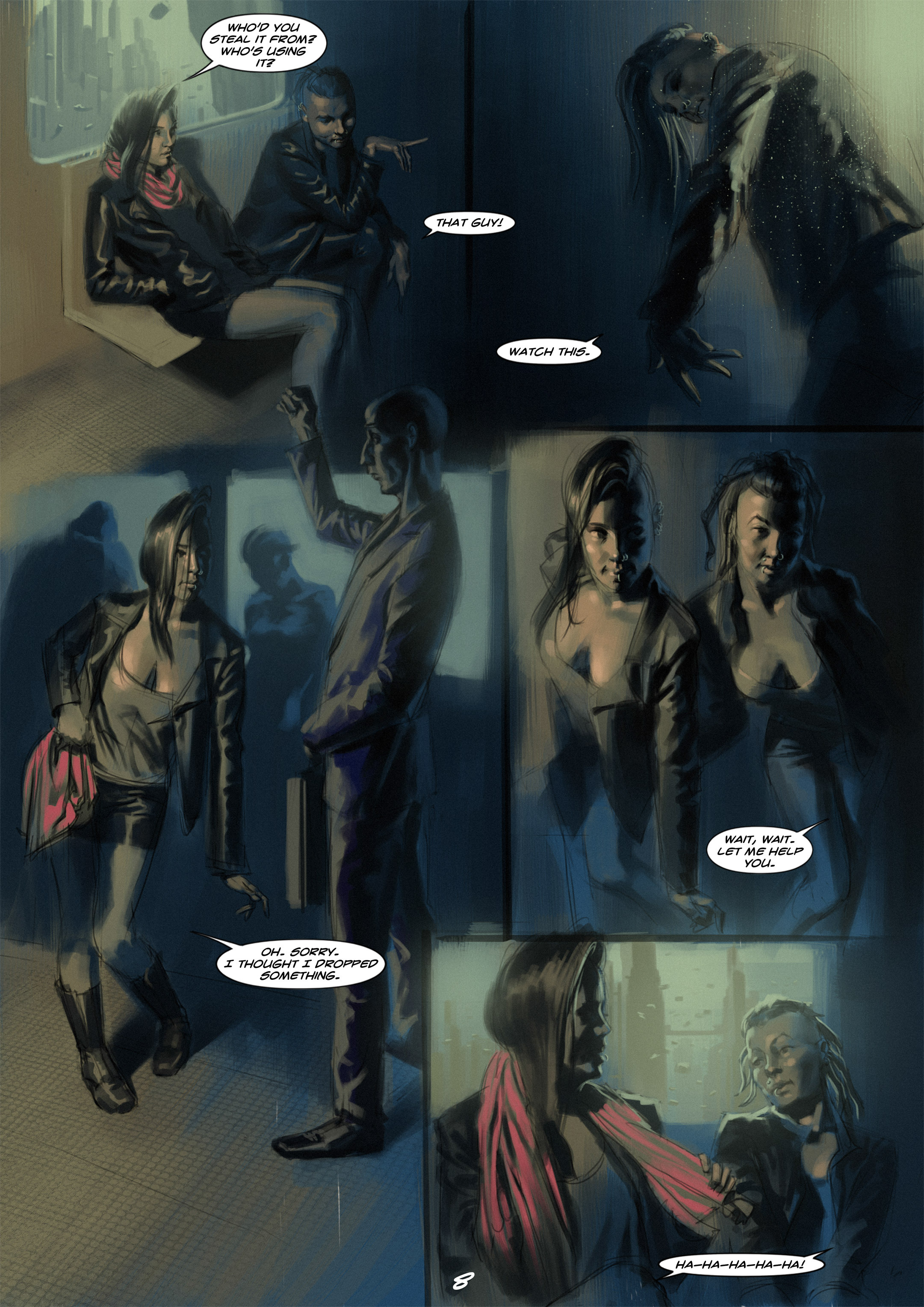 Read online Wynter comic -  Issue #1 - 9