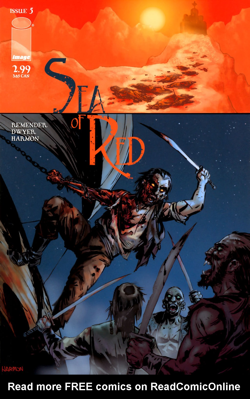 Read online Sea of Red comic -  Issue #5 - 1