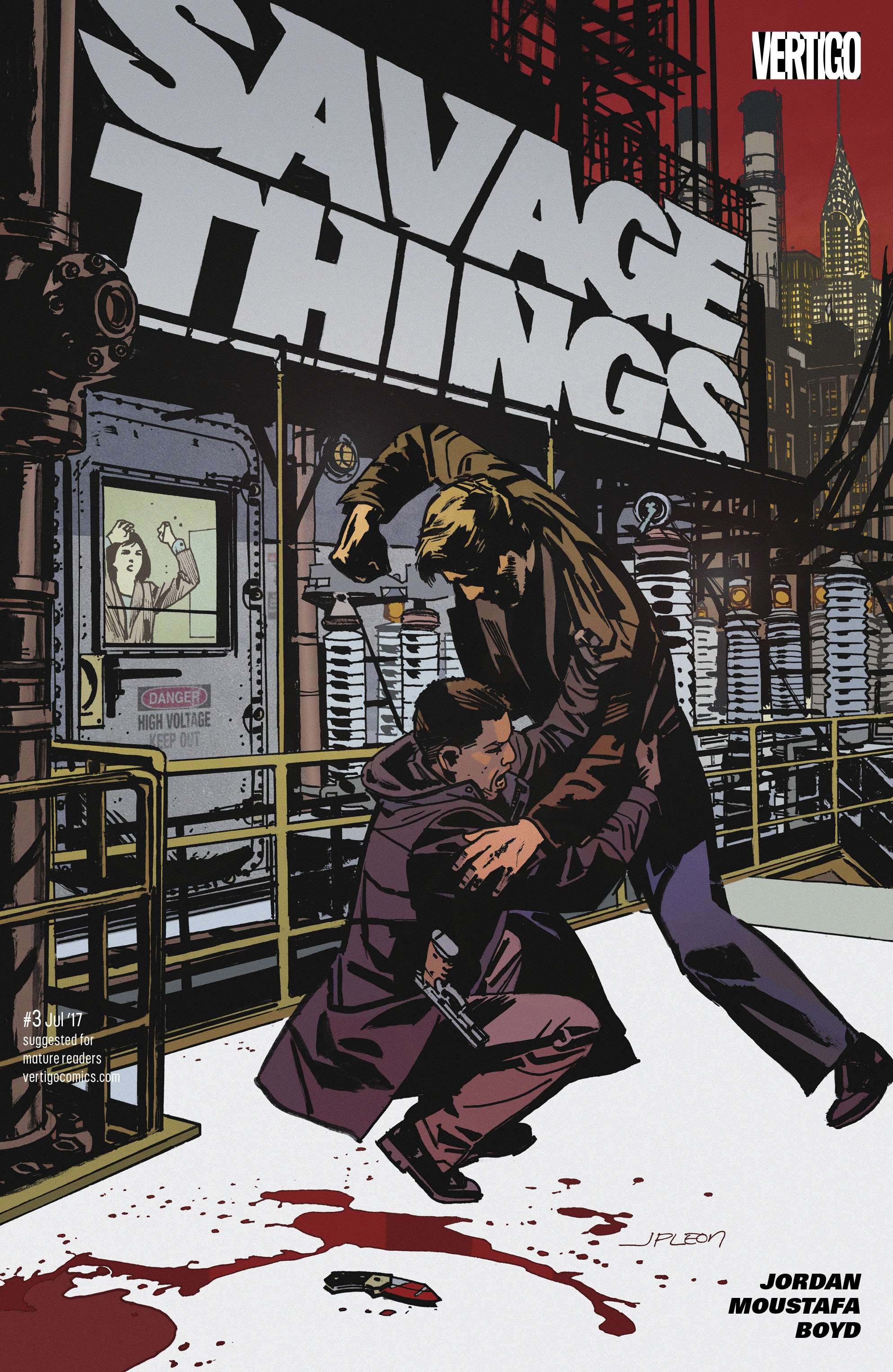 Read online Savage Things comic -  Issue #3 - 1