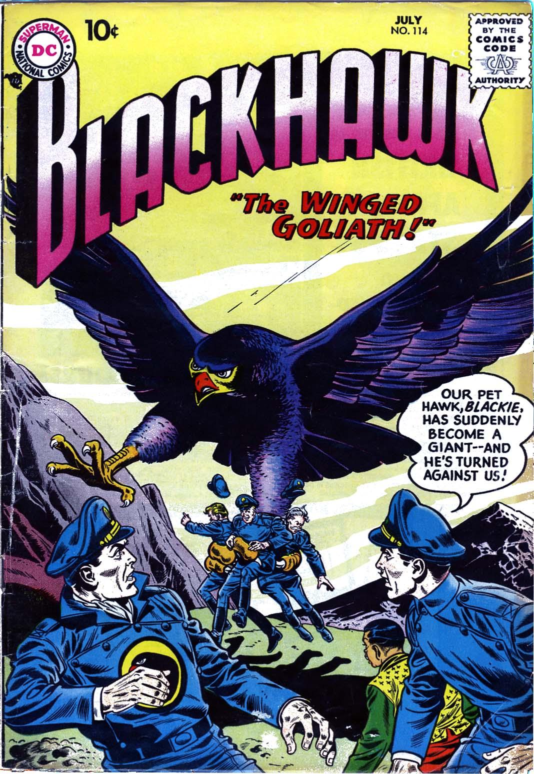 Blackhawk (1957) 114 Page 1