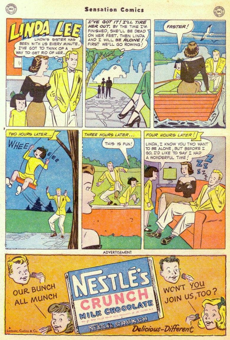 Read online Sensation (Mystery) Comics comic -  Issue #98 - 50