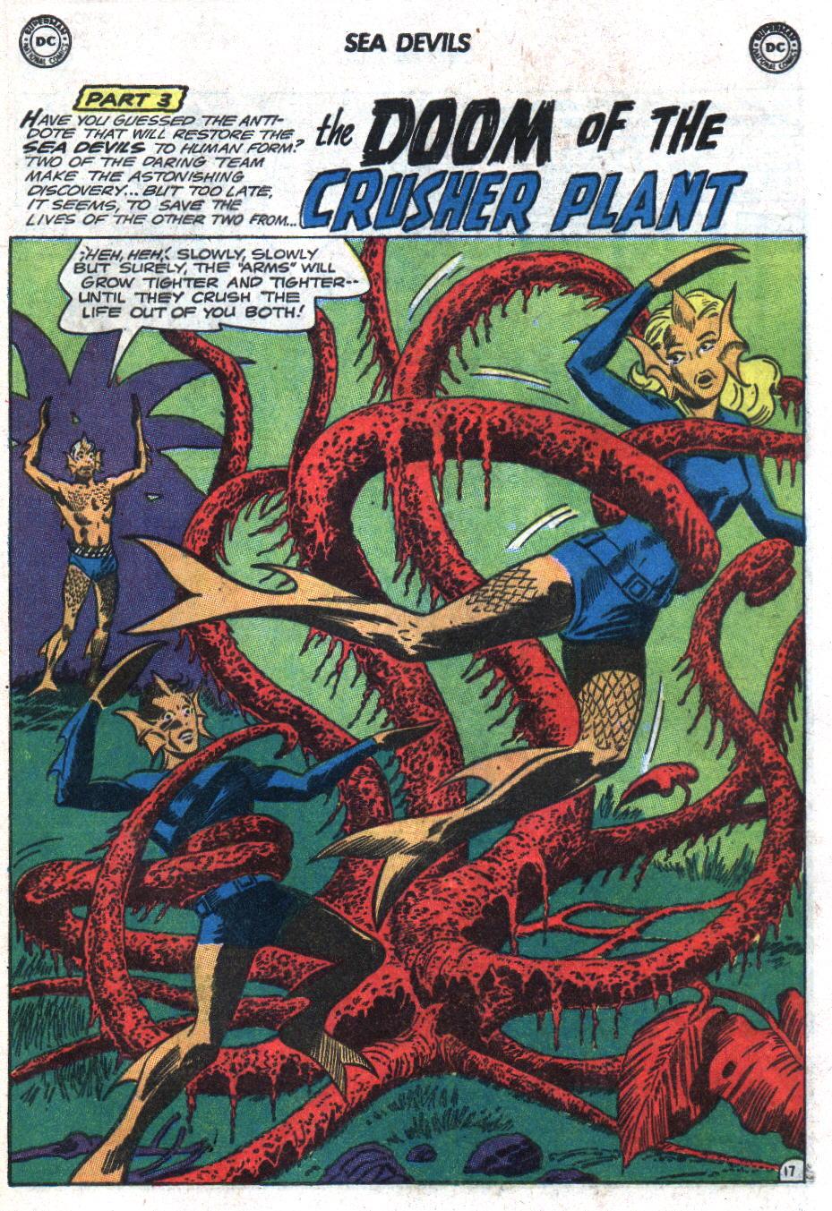Read online Sea Devils comic -  Issue #18 - 25