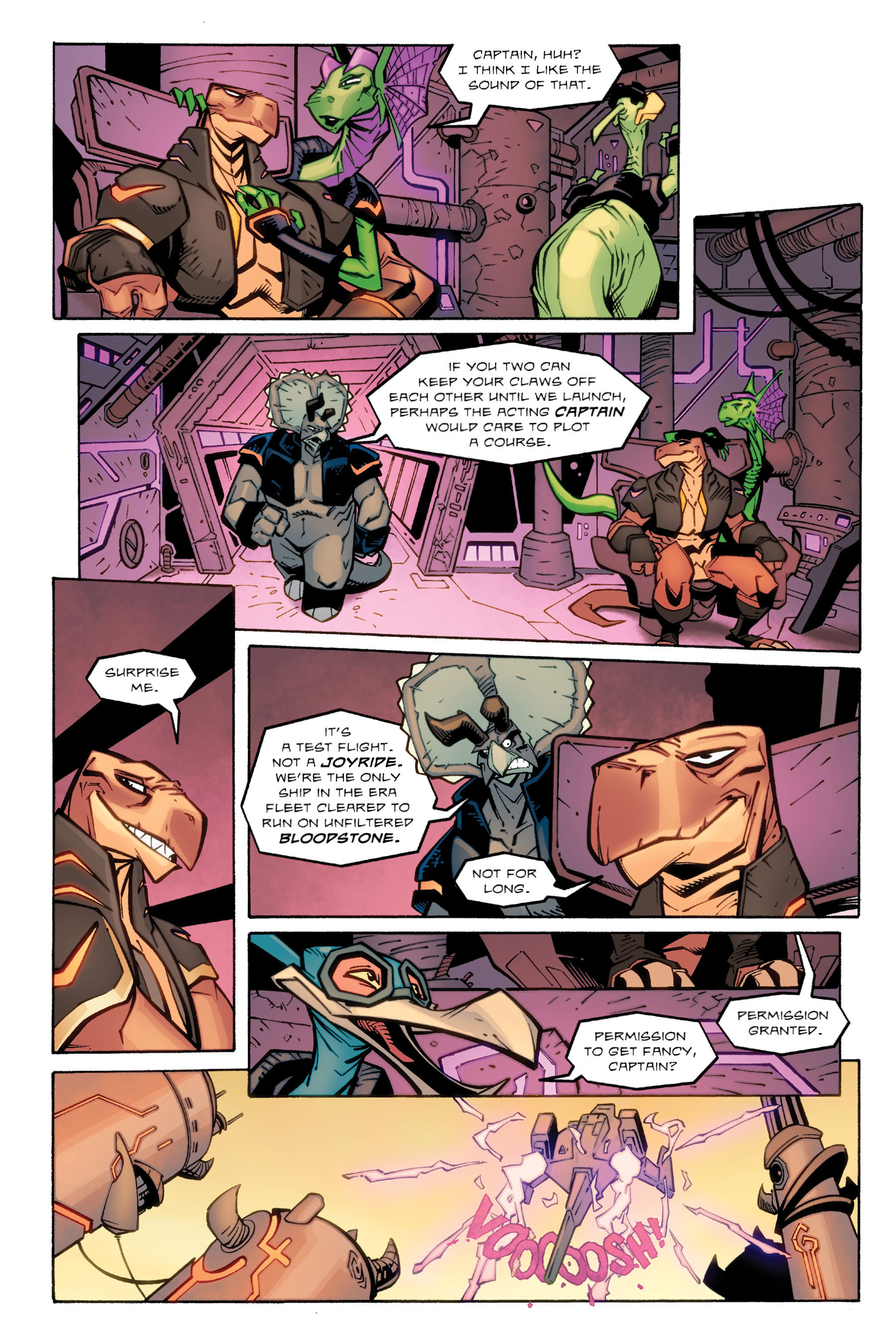 Read online Rexodus comic -  Issue # Full - 109