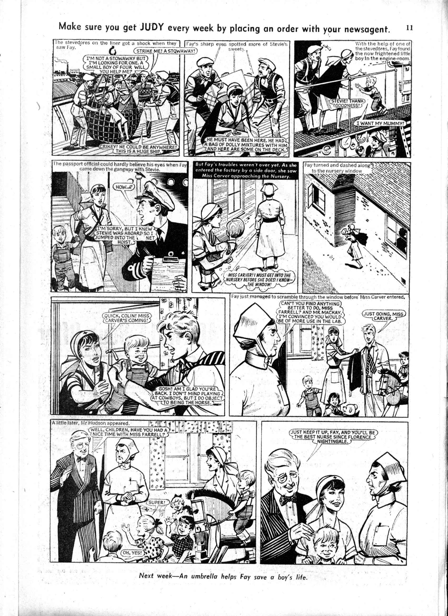Read online Judy comic -  Issue #167 - 11