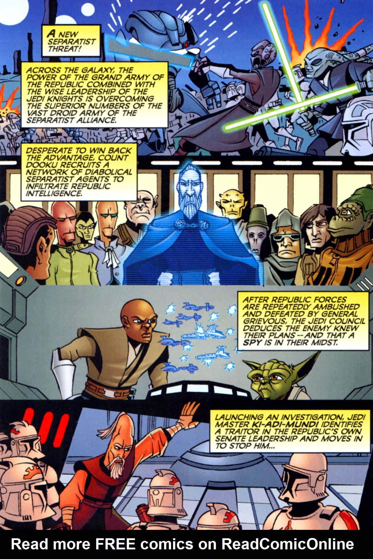 Read online Star Wars: The Clone Wars - Crash Course comic -  Issue # Full - 6