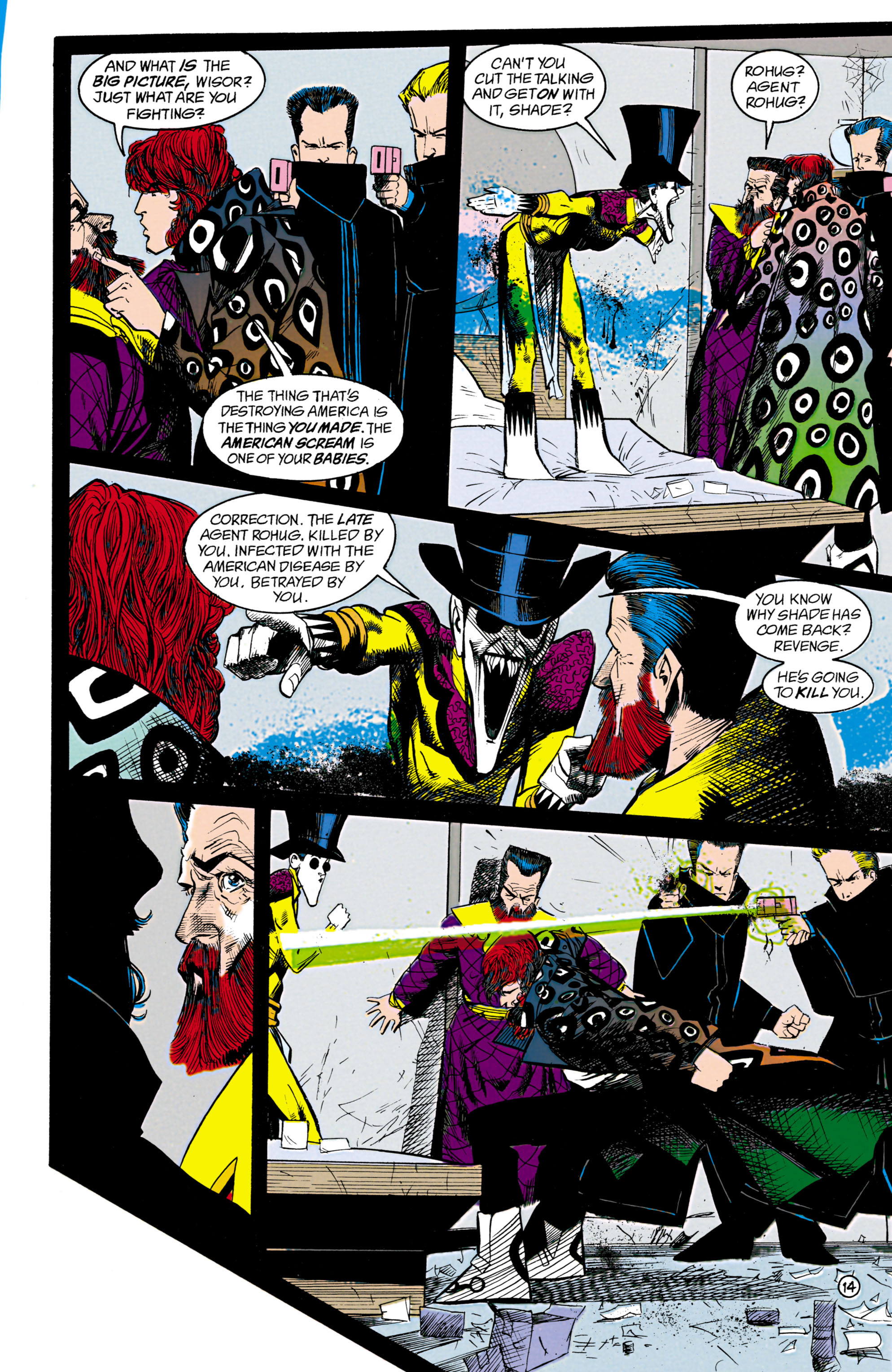 Read online Shade, the Changing Man comic -  Issue #18 - 14