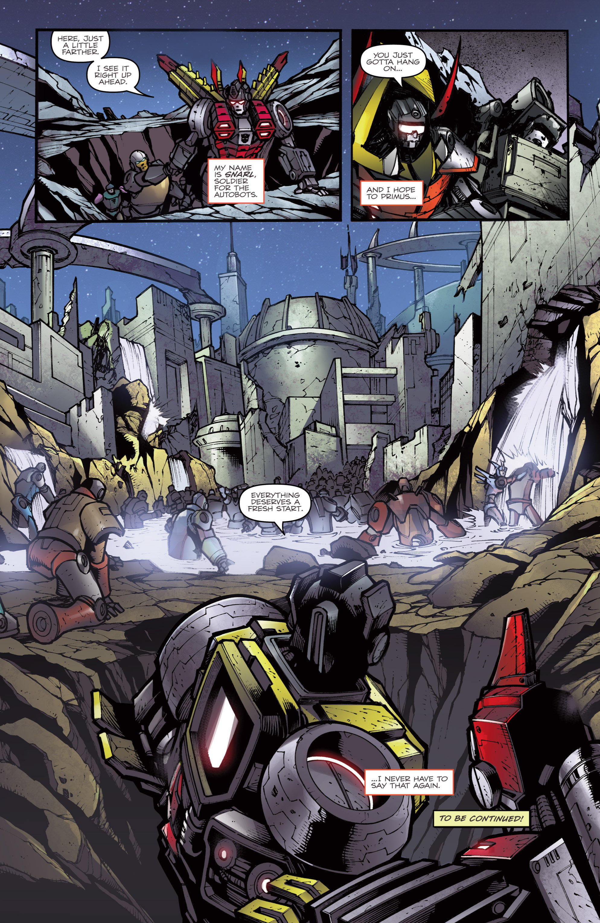 Read online Transformers Prime: Beast Hunters comic -  Issue #6 - 24
