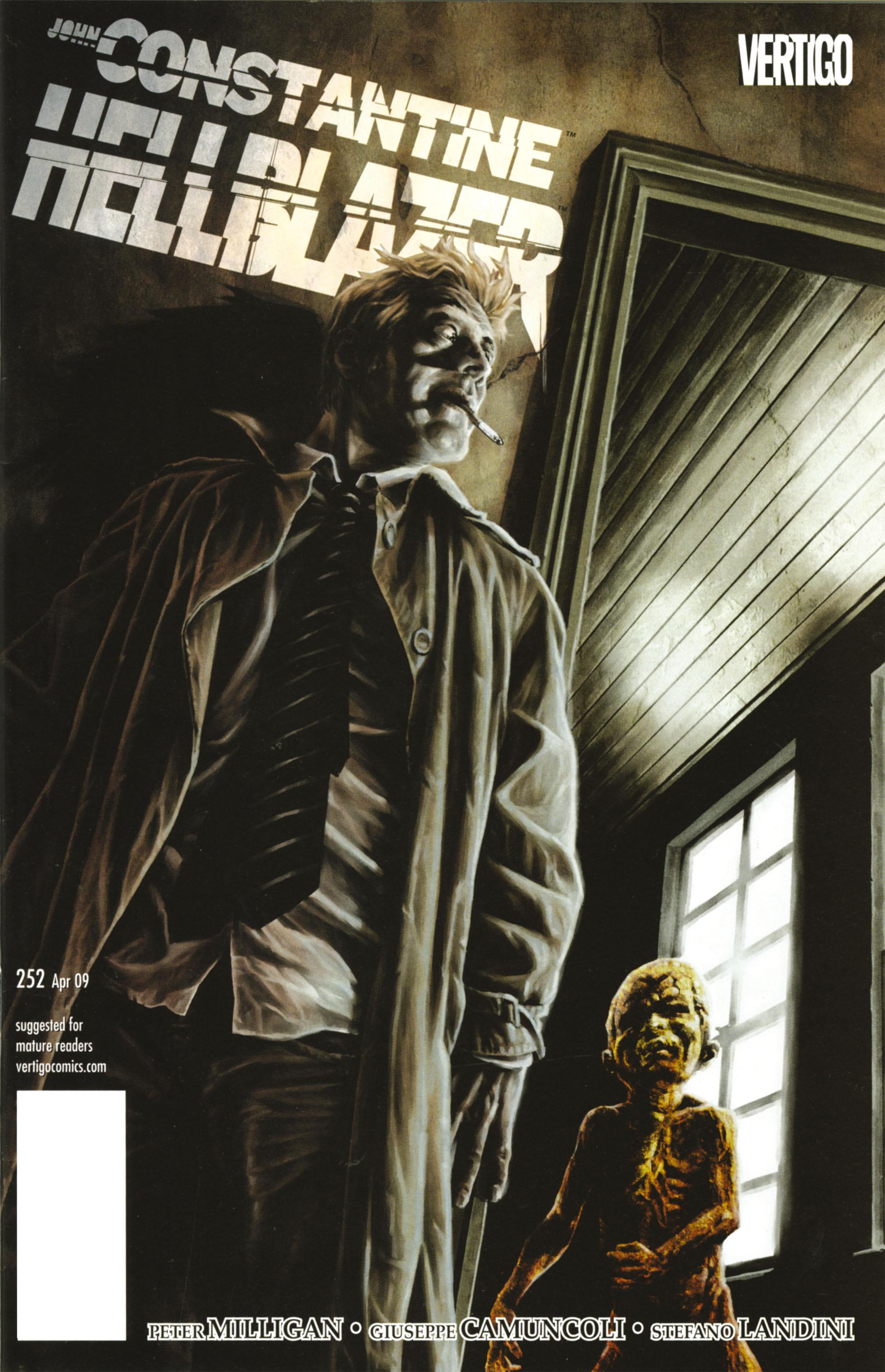 Hellblazer issue 252 - Page 1