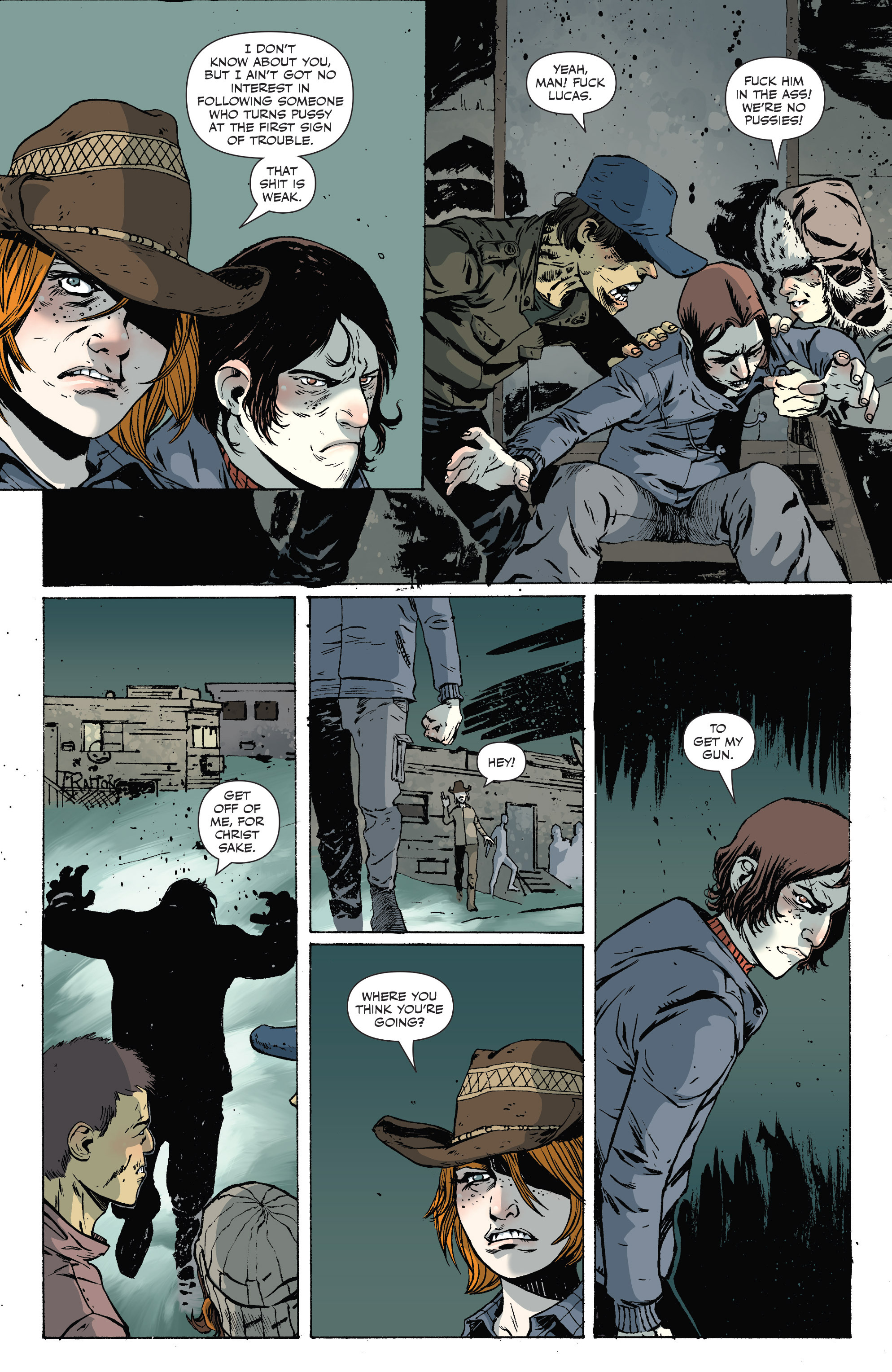 Read online Sheltered comic -  Issue #10 - 15