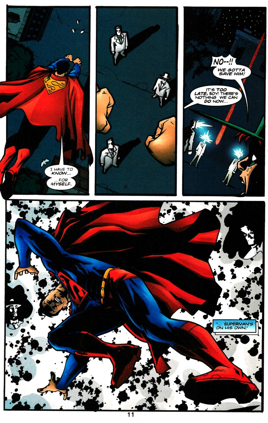 Read online Adventures of Superman (1987) comic -  Issue #616 - 12