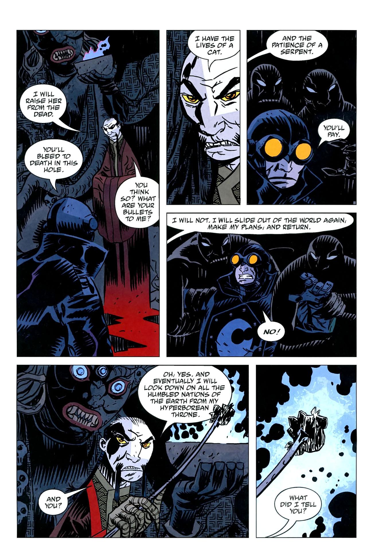 Read online Lobster Johnson: The Iron Prometheus comic -  Issue #5 - 6