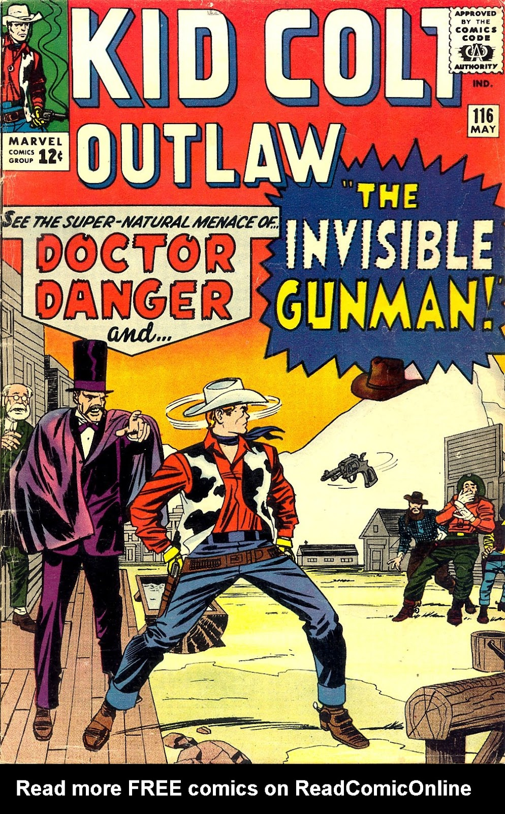 Kid Colt Outlaw issue 116 - Page 1