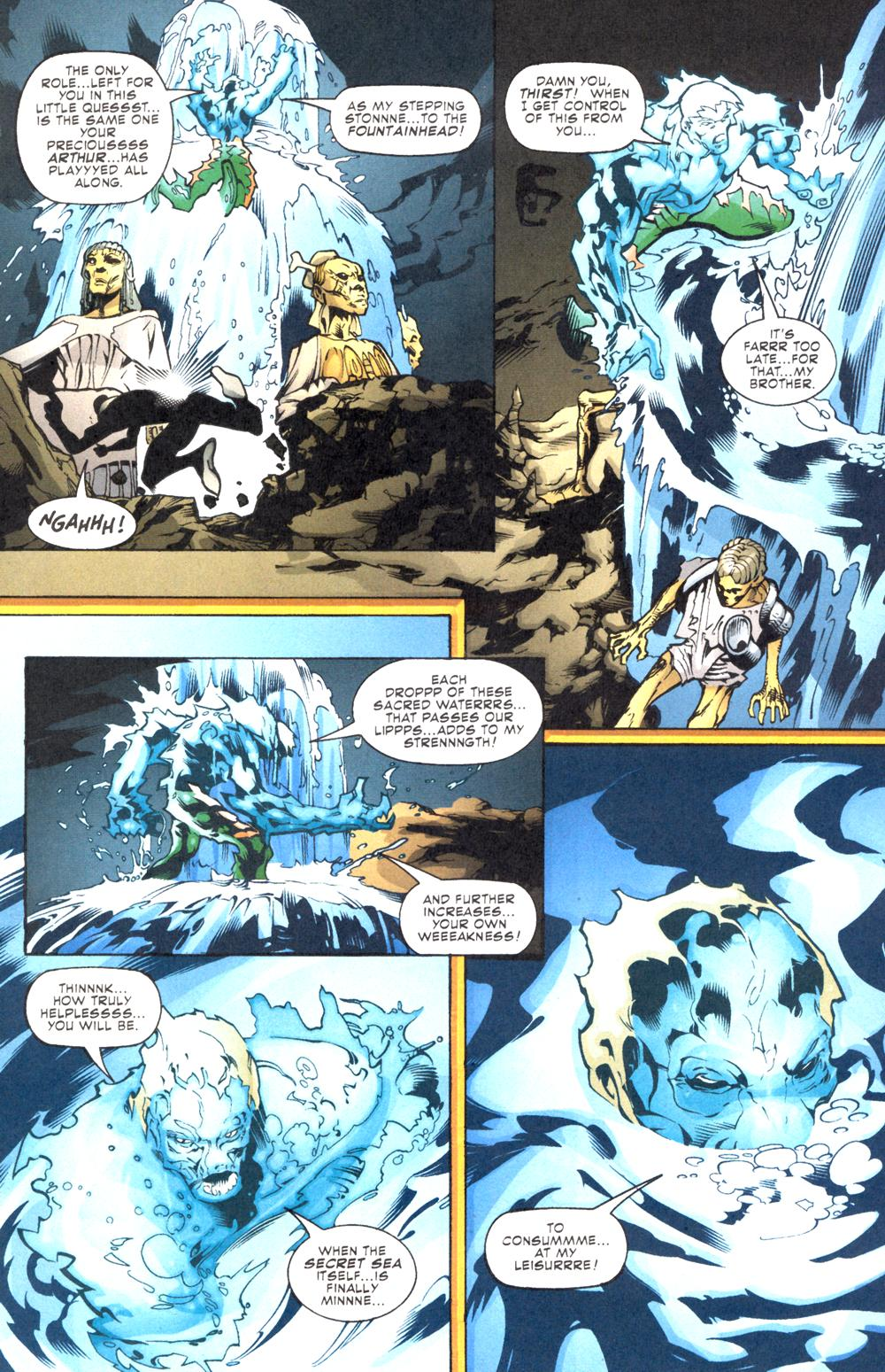 Read online Aquaman (2003) comic -  Issue #12 - 9