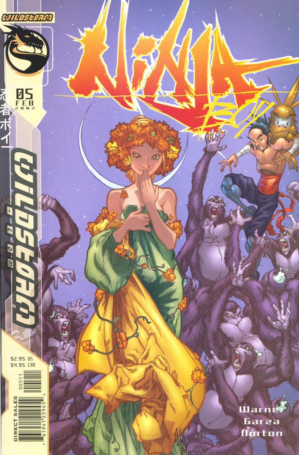 Read online Ninja Boy comic -  Issue #5 - 2