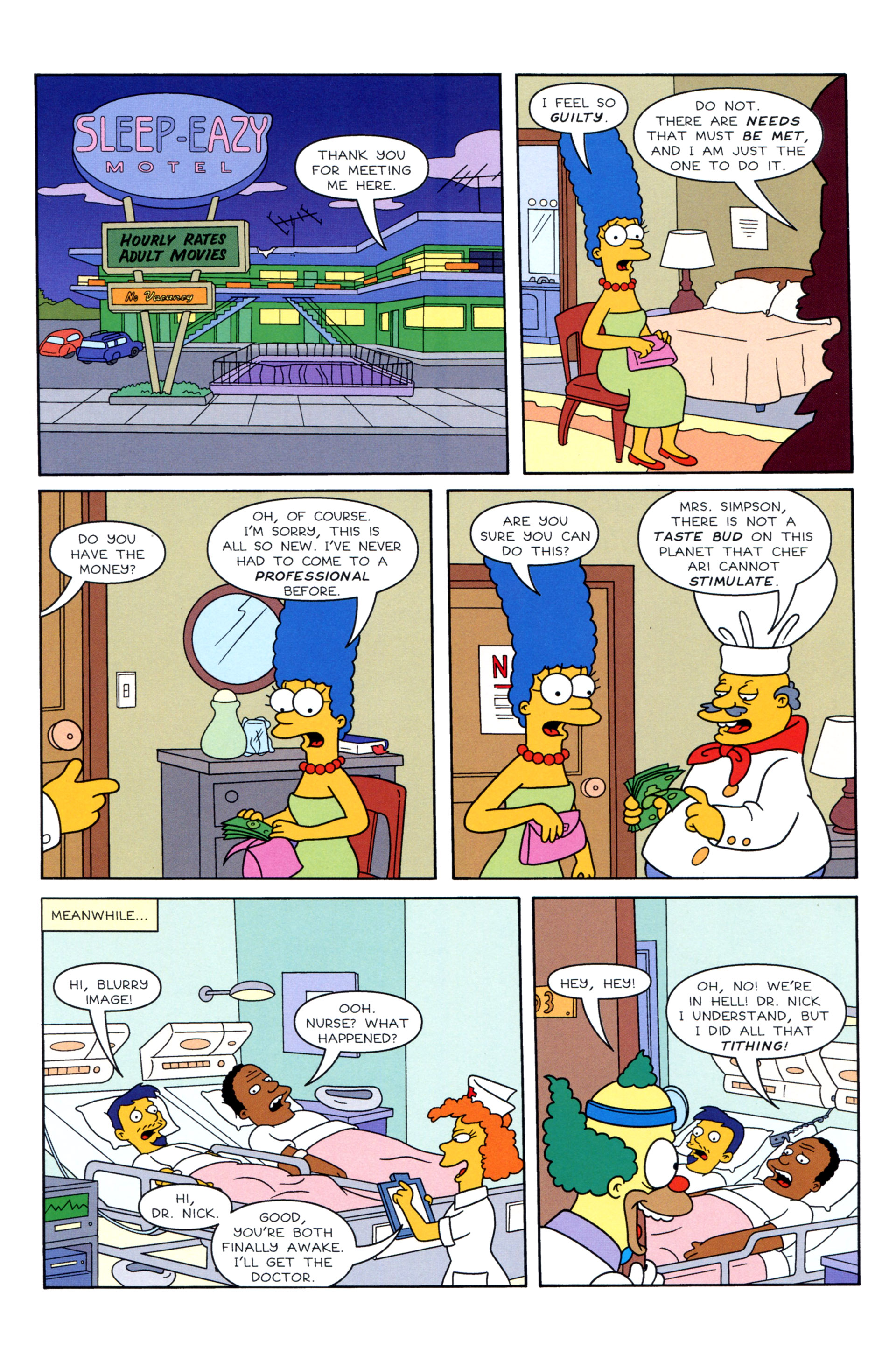 Read online Simpsons Illustrated (2012) comic -  Issue #8 - 16